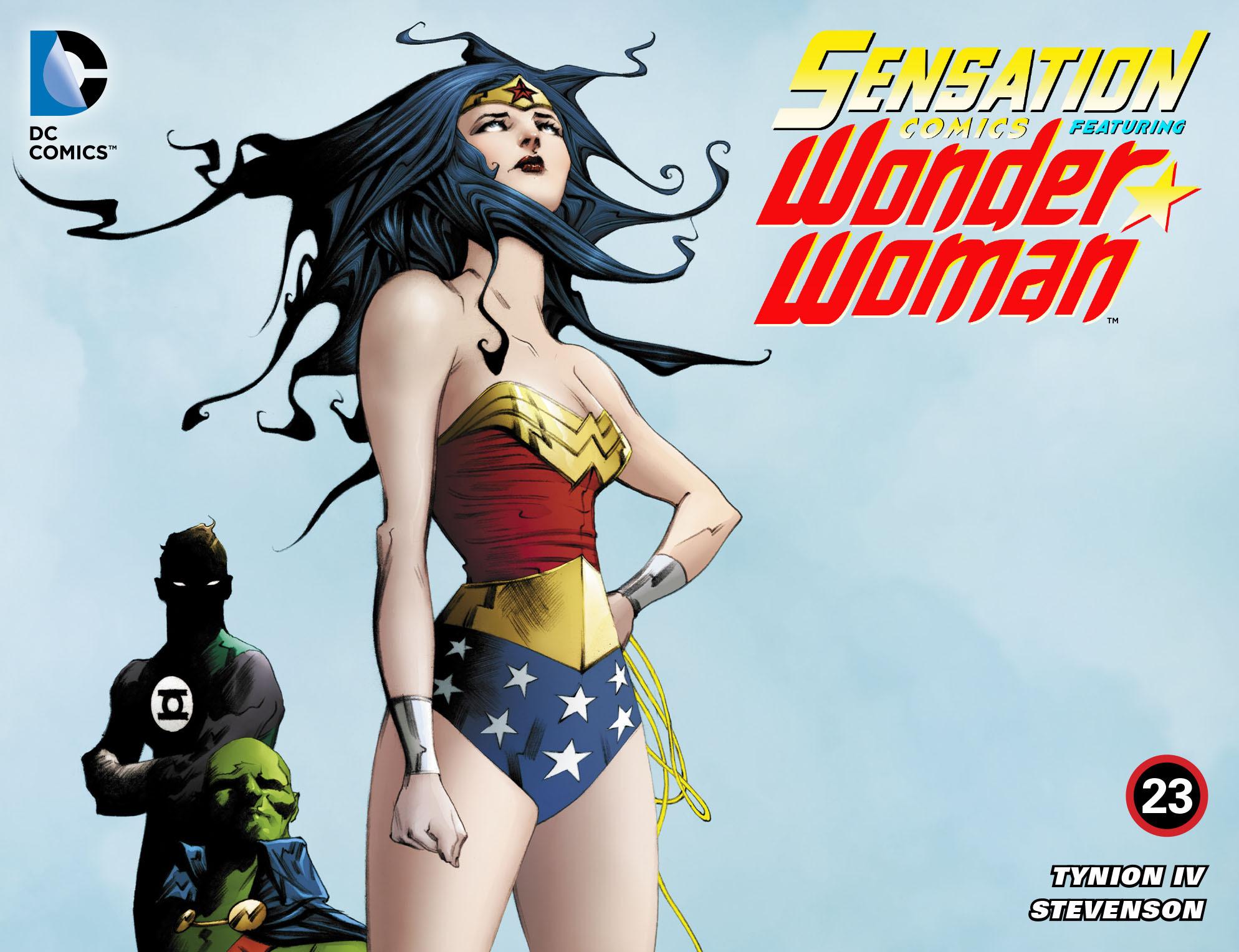 Read online Sensation Comics Featuring Wonder Woman comic -  Issue #23 - 1