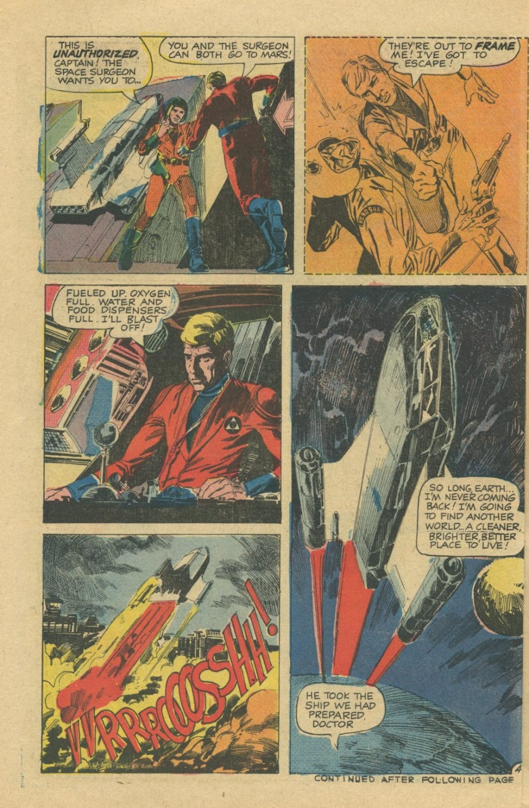 Space Adventures (1968) issue 8 - Page 6