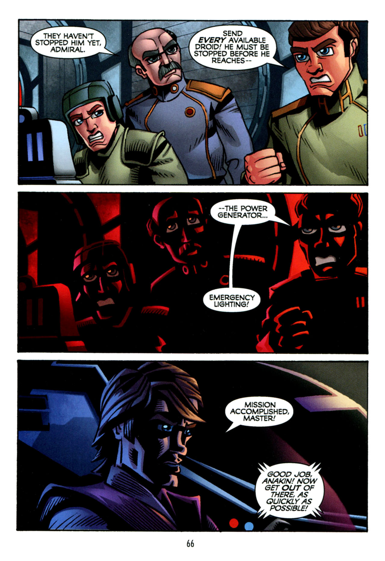 Read online Star Wars: The Clone Wars - The Starcrusher Trap comic -  Issue # Full - 67