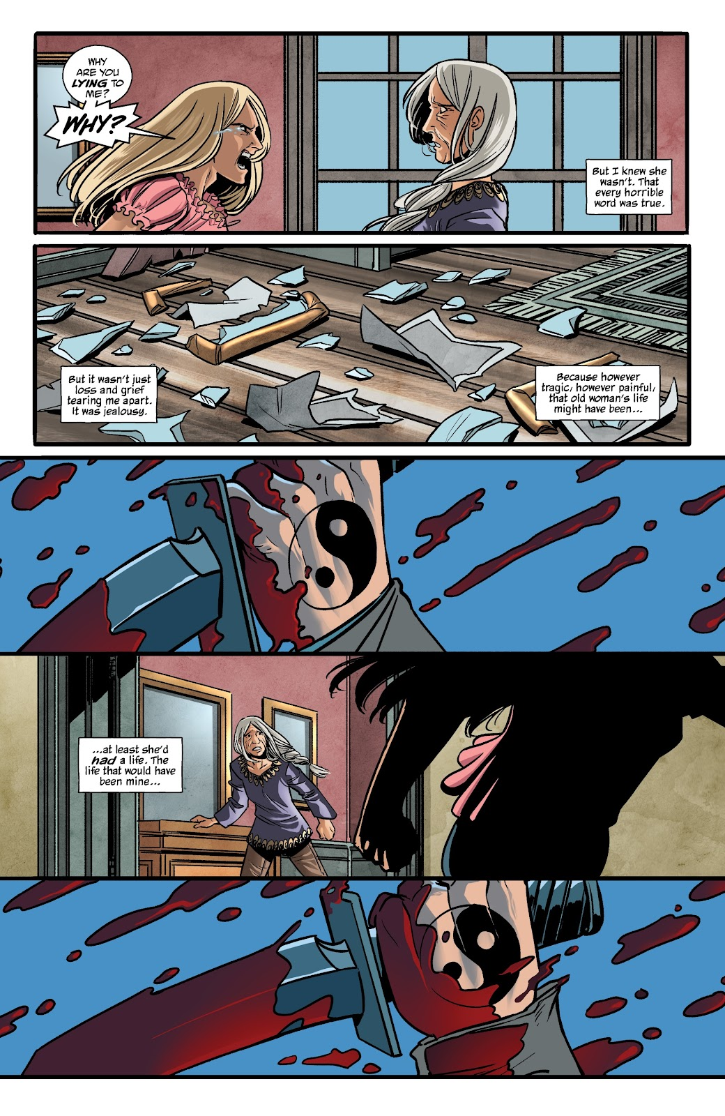 Read online The Girl In The Bay comic -  Issue #1 - 26