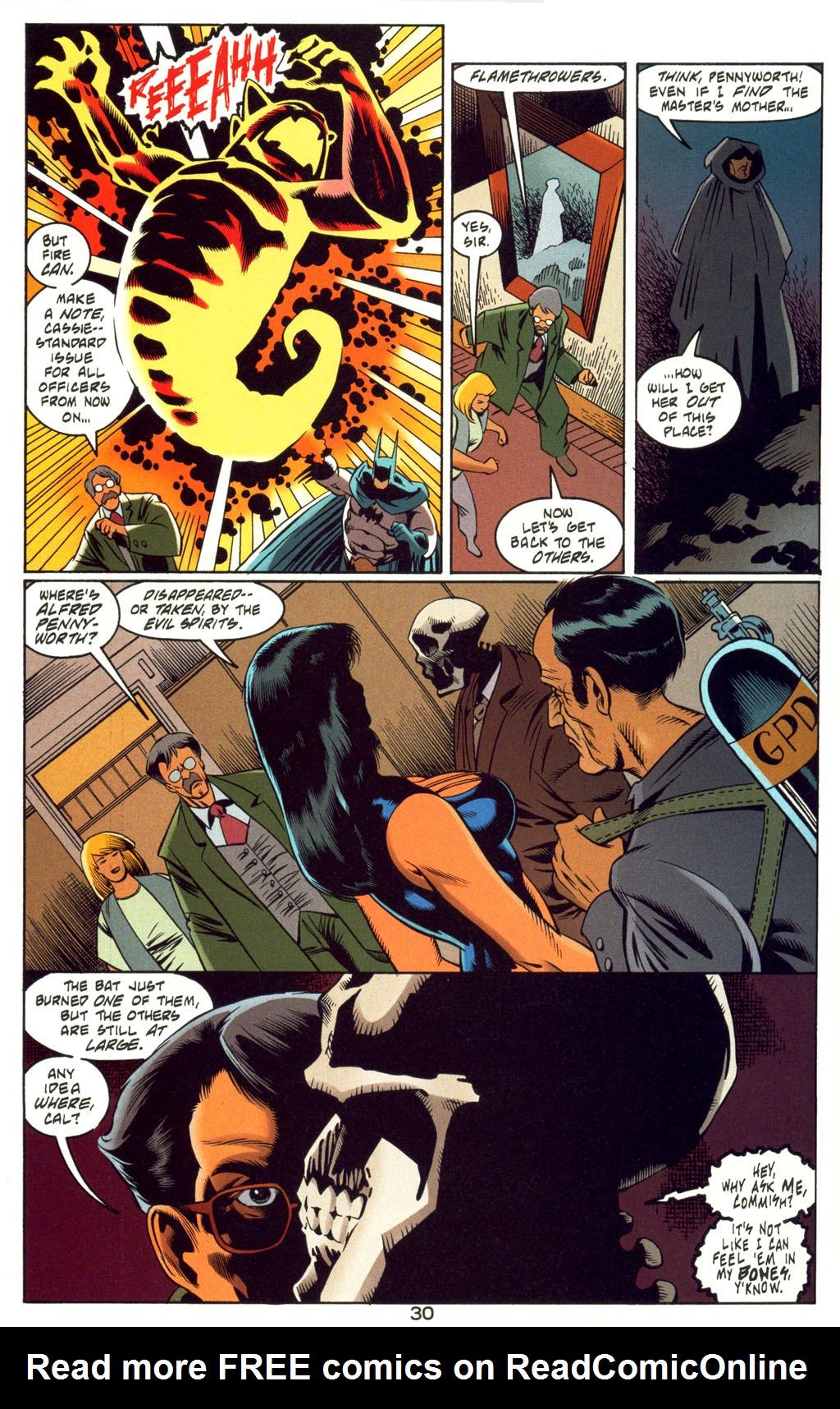 Read online Batman: Haunted Gotham comic -  Issue #4 - 30
