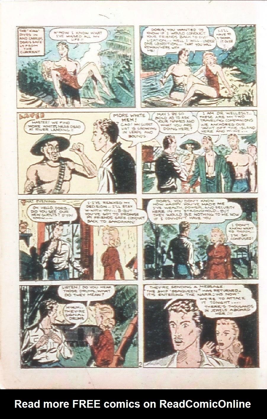 Read online Amazing Man Comics comic -  Issue #9 - 15