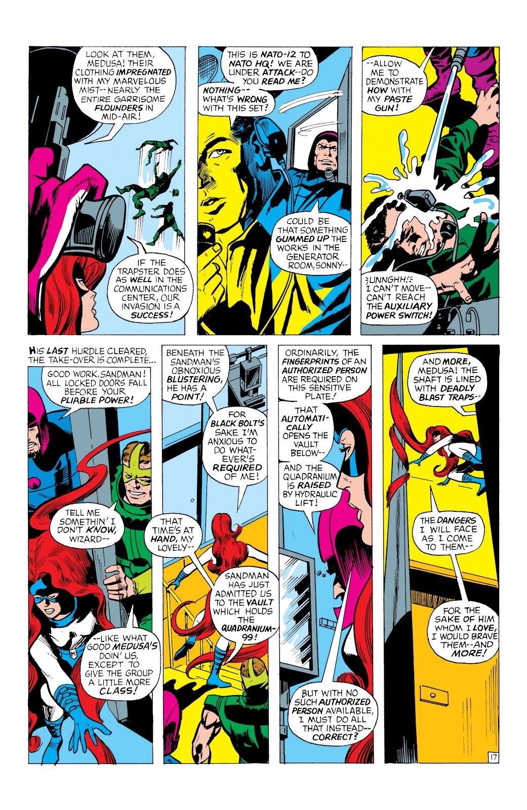 Read online Marvel Masterworks: The Inhumans comic -  Issue # TPB 1 (Part 1) - 60