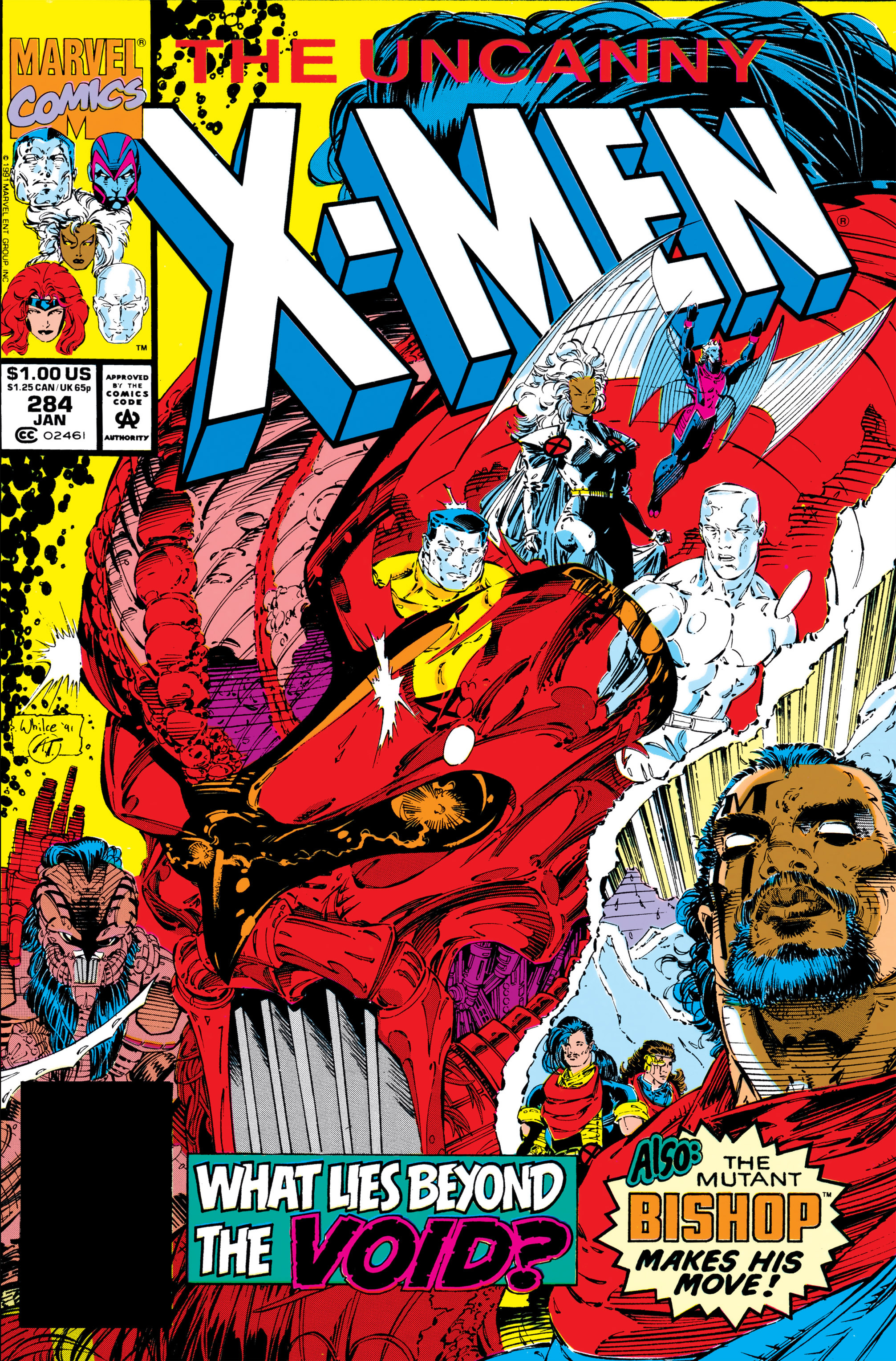 Uncanny X-Men (1963) 284 Page 1