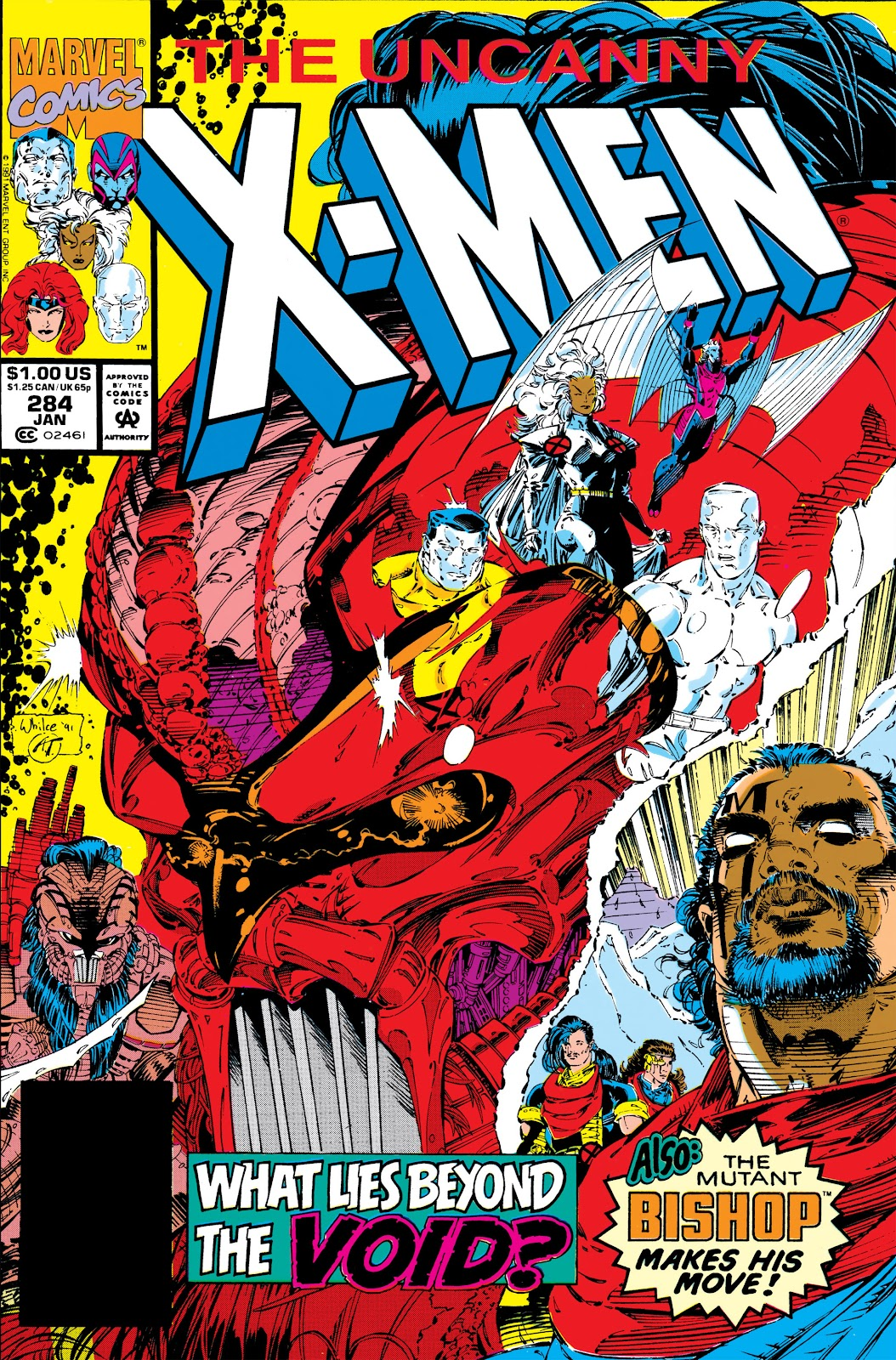 Uncanny X-Men (1963) issue 284 - Page 1