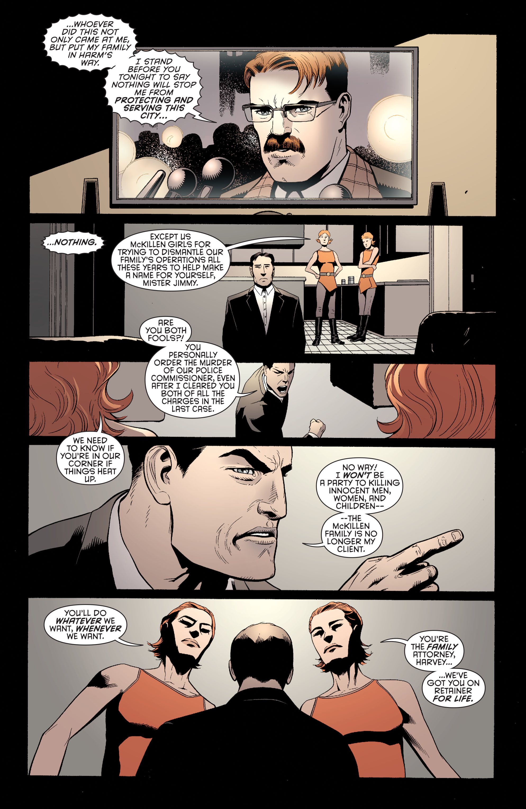 Read online Batman and Robin (2011) comic -  Issue #27 - Batman and Two-Face - 15