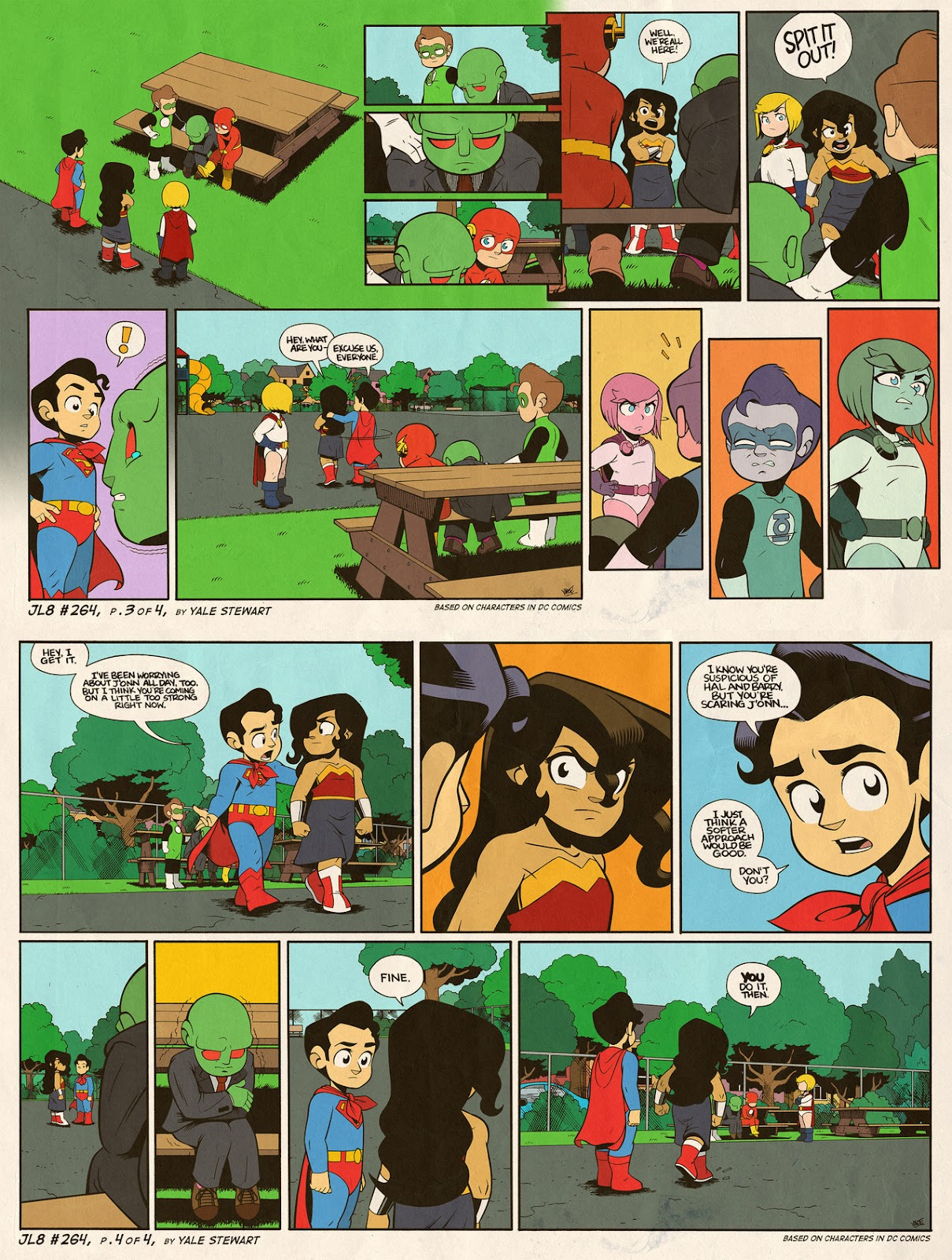 Read online JL8 – The Complete Collection comic -  Issue # TPB (Part 2) - 77