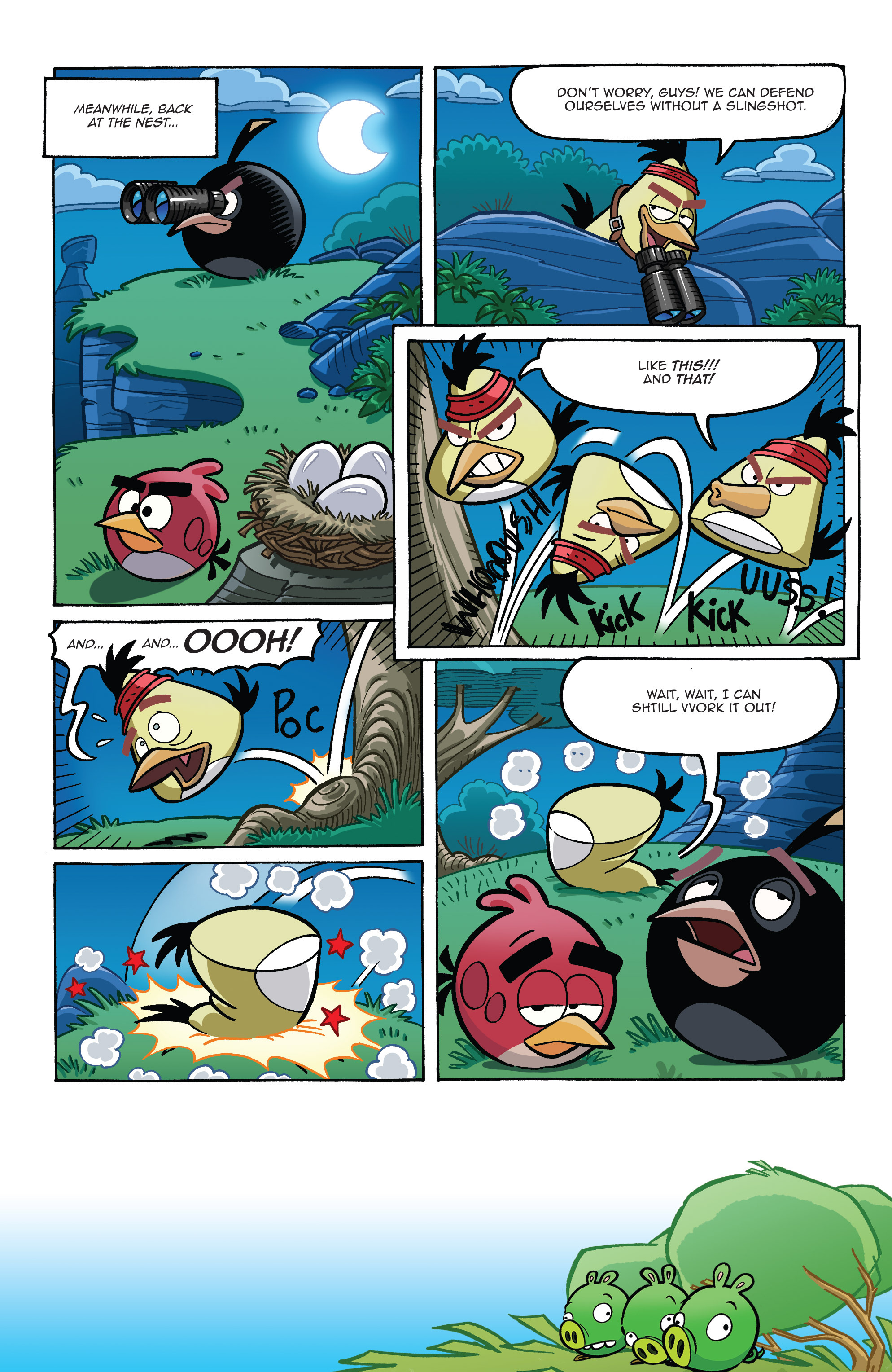 Read online Angry Birds Comics (2014) comic -  Issue #8 - 7