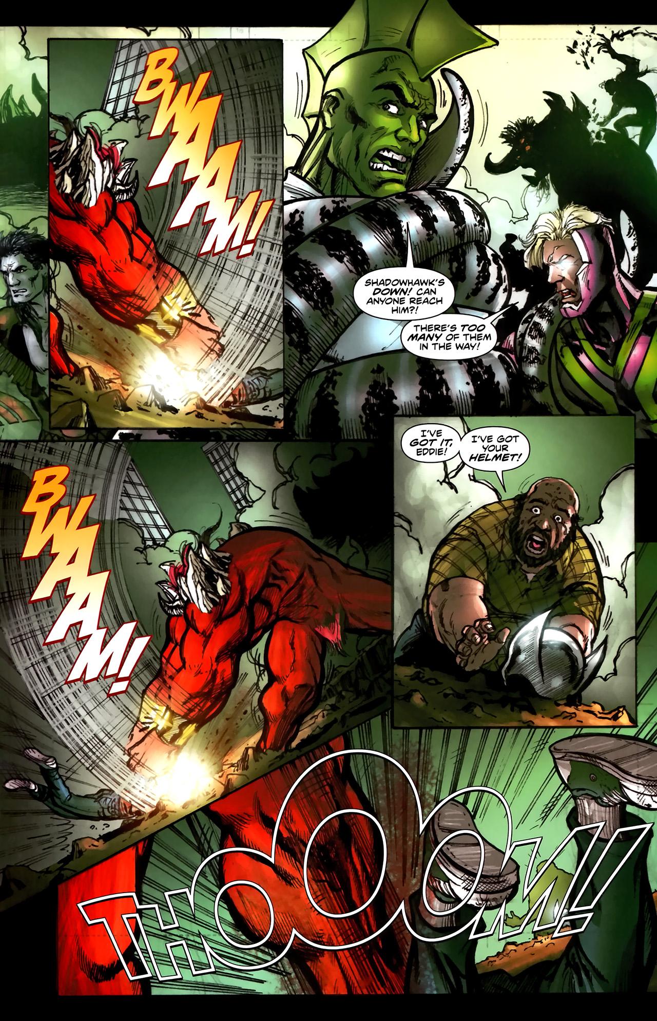Read online ShadowHawk (2010) comic -  Issue #5 - 18
