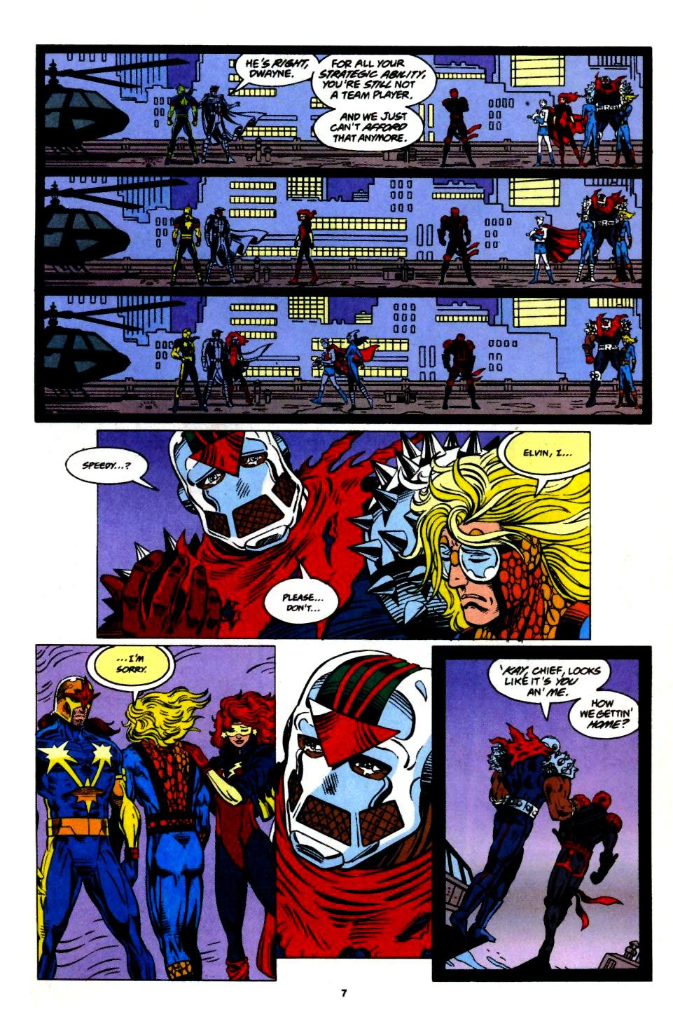 The New Warriors Issue #57 #61 - English 7