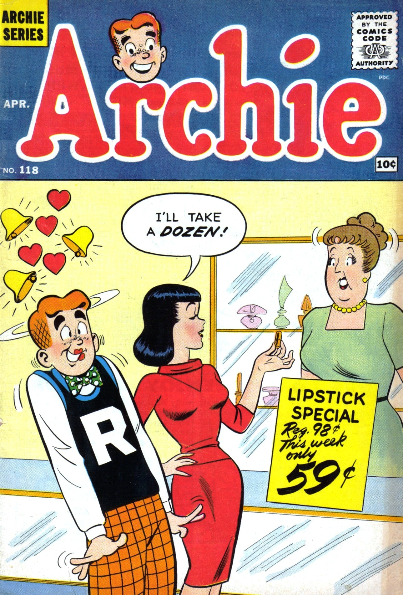 Read online Archie (1960) comic -  Issue #118 - 1