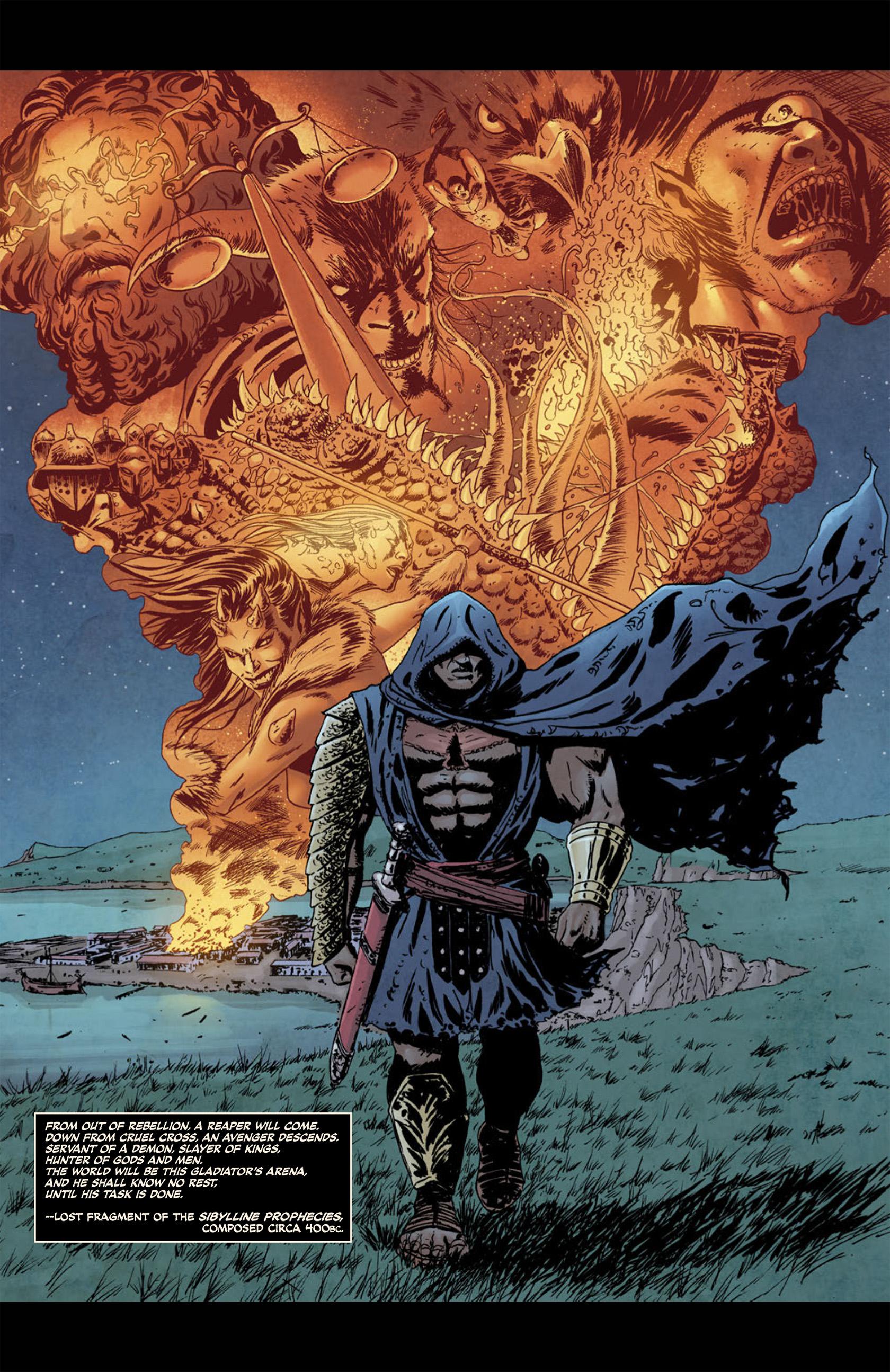 Read online Aquila comic -  Issue #1 - 13