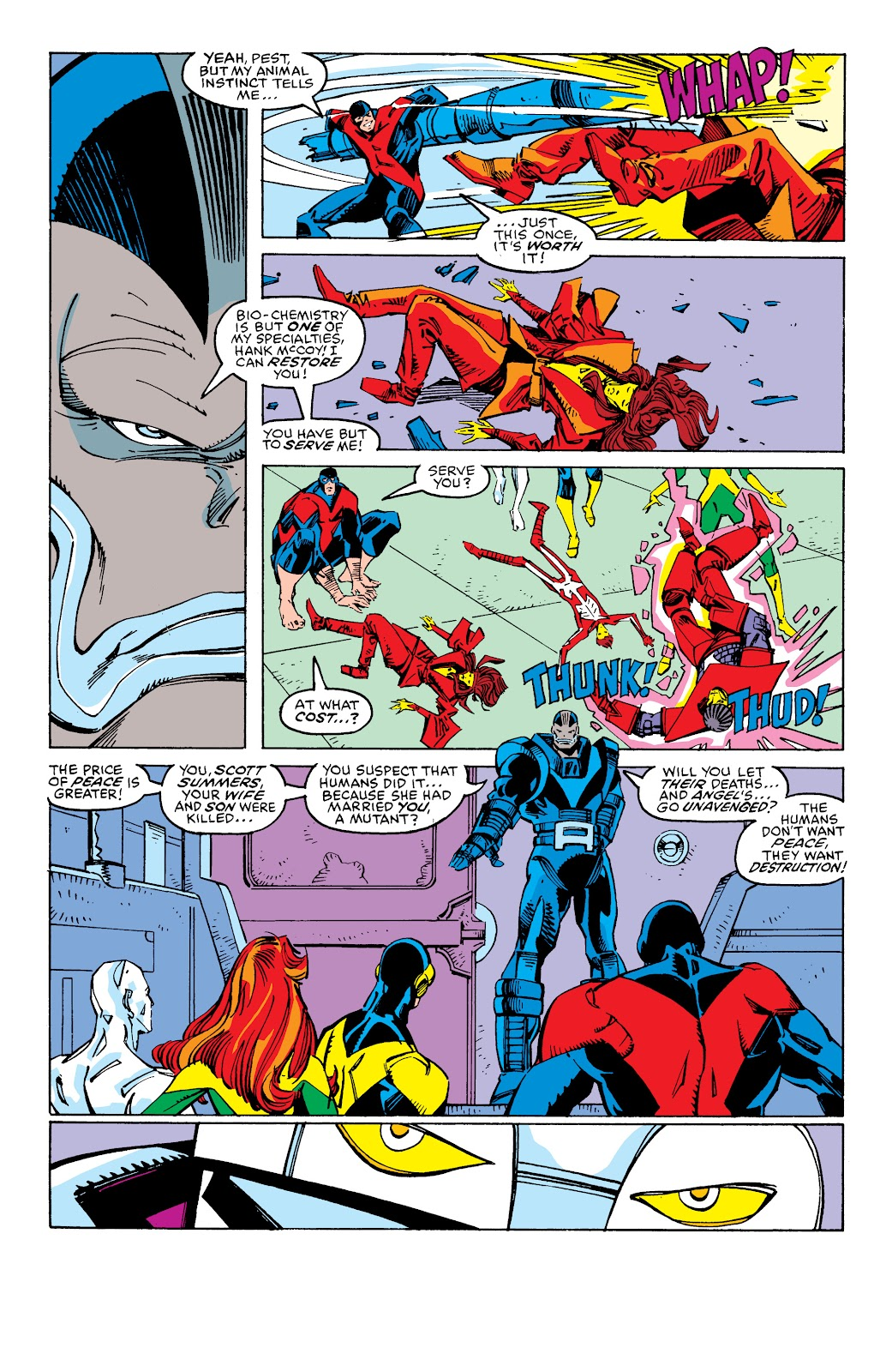 Read online X-Men Milestones: Fall of the Mutants comic -  Issue # TPB (Part 2) - 95