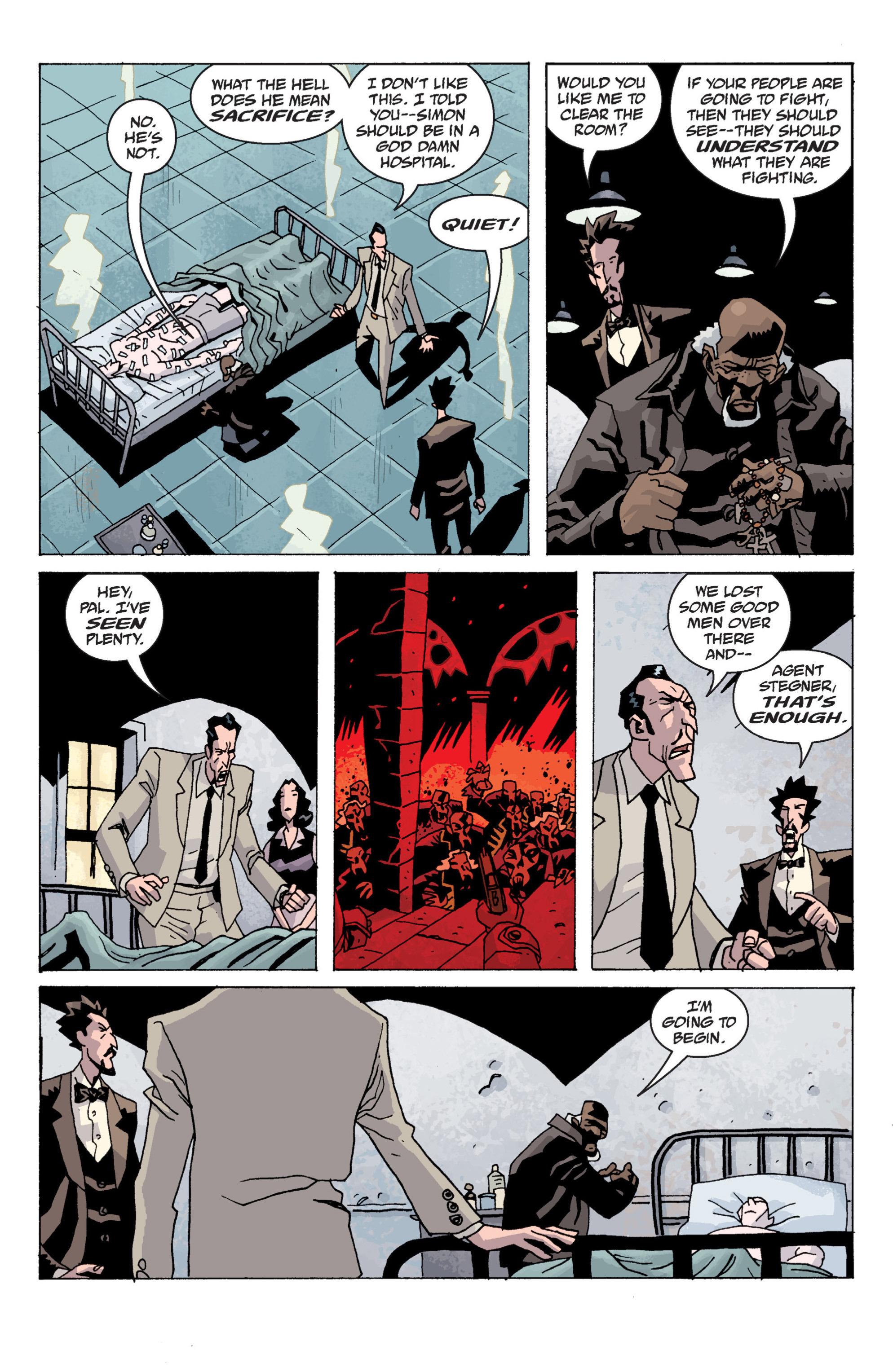 Read online B.P.R.D. (2003) comic -  Issue # TPB 13 - 118