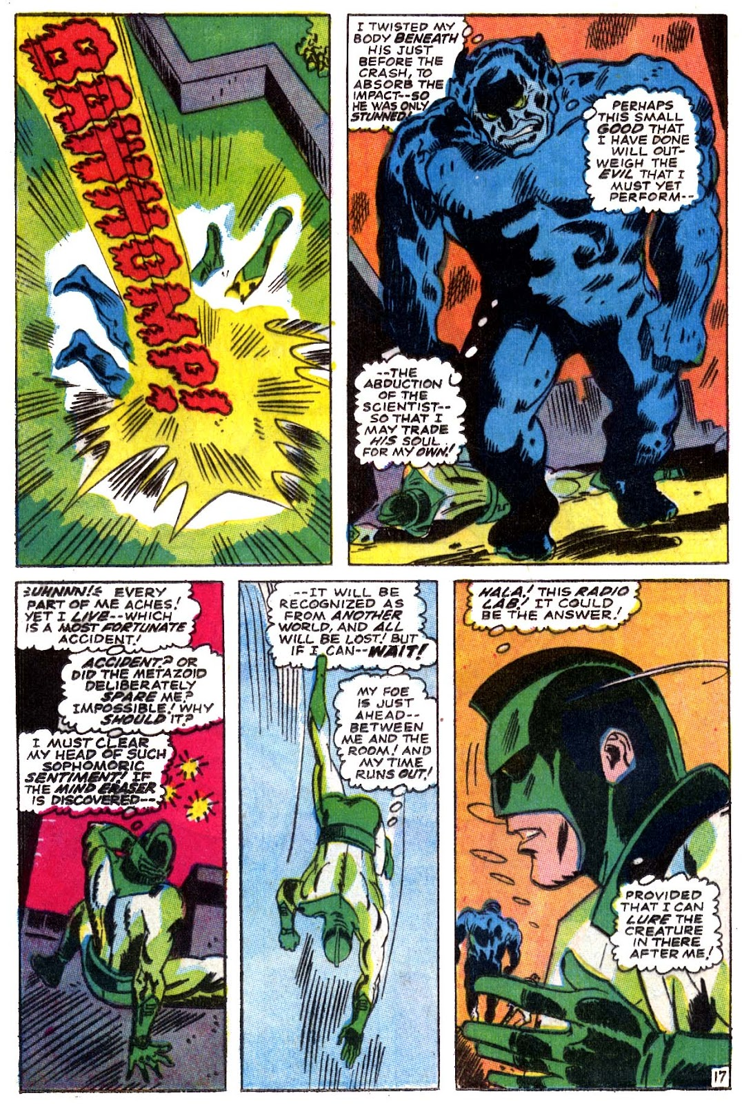 Captain Marvel (1968) issue 5 - Page 18