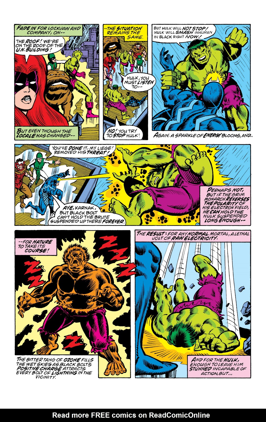 Read online Marvel Masterworks: The Inhumans comic -  Issue # TPB 2 (Part 3) - 8