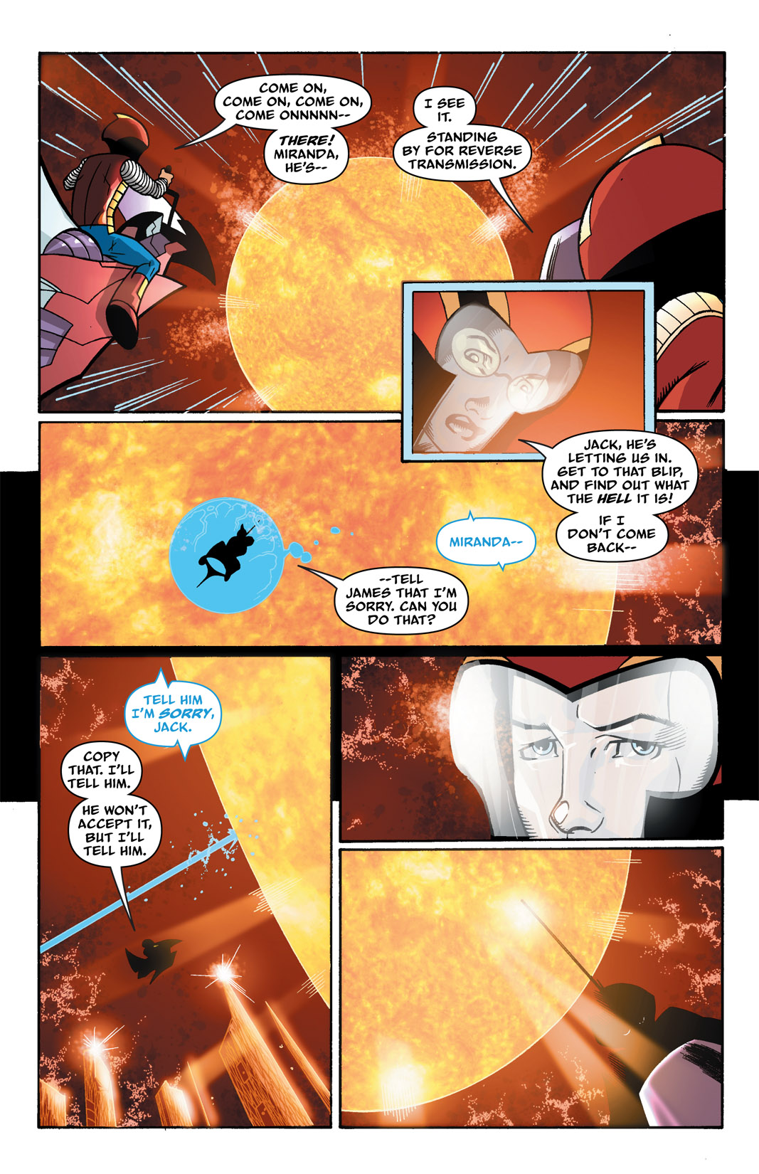 Read online The Many Adventures of Miranda Mercury: Time Runs Out comic -  Issue # TPB - 53