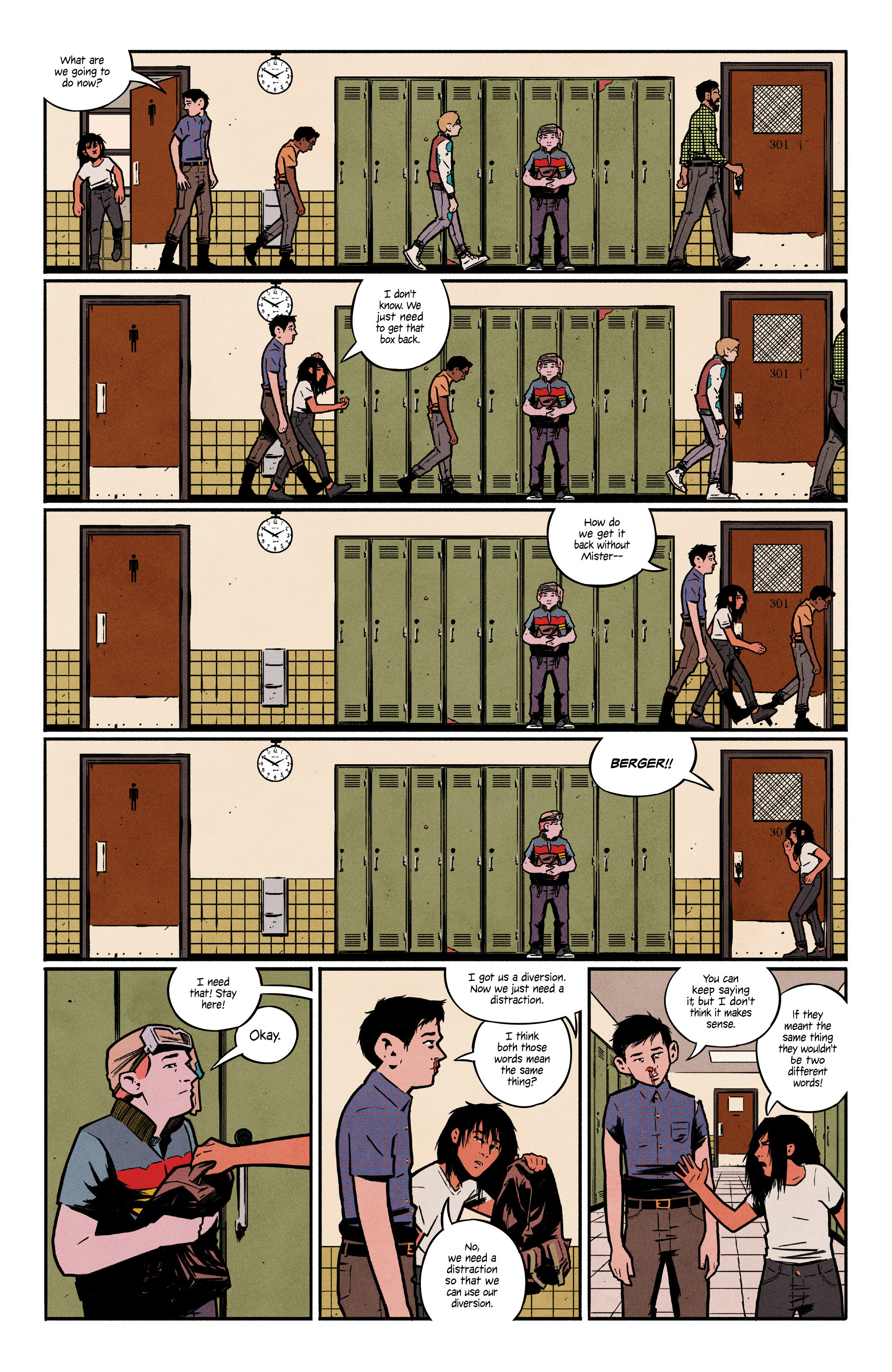 Read online 4 Kids Walk Into a Bank comic -  Issue #3 - 21