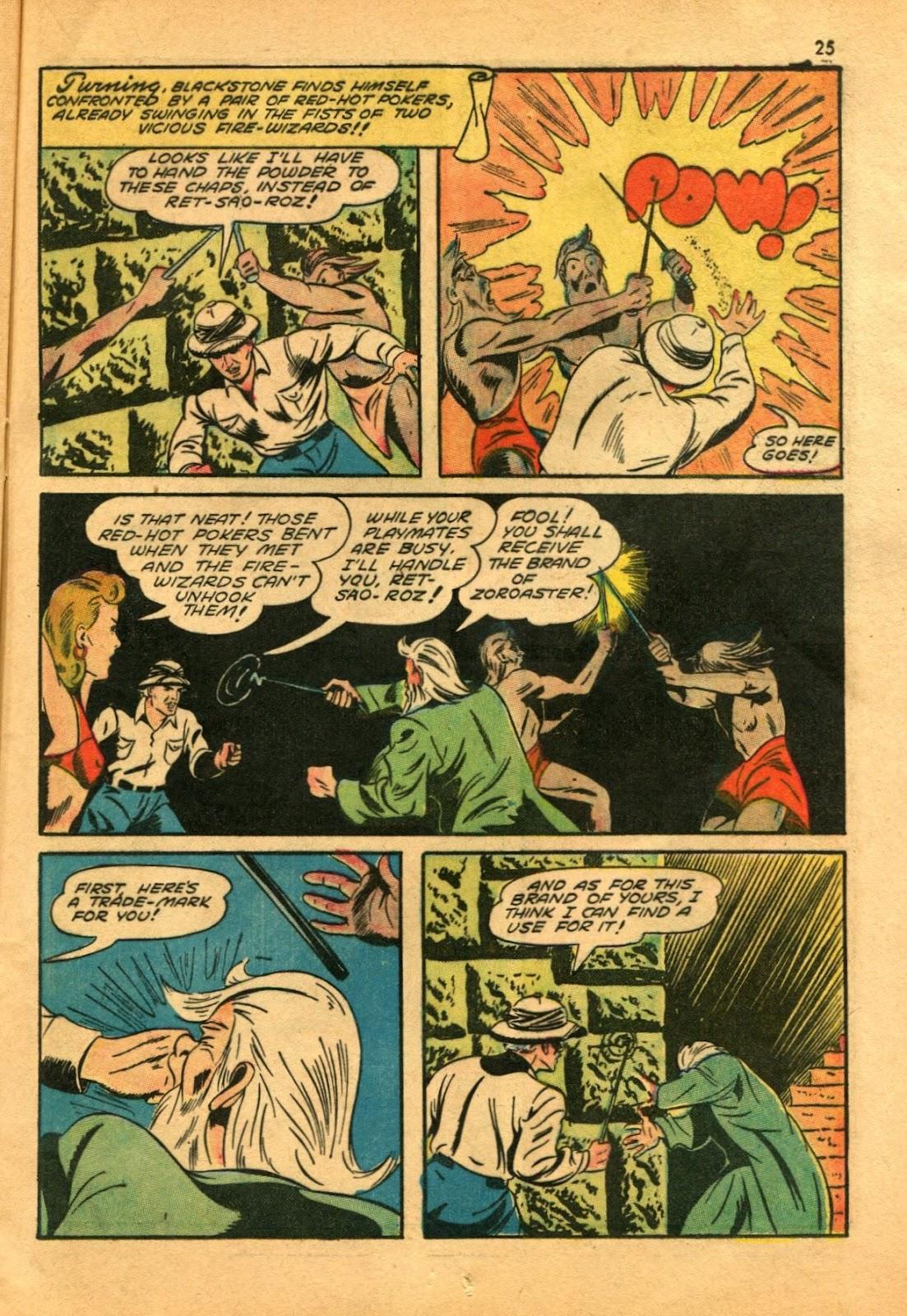 Read online Super-Magician Comics comic -  Issue #11 - 25