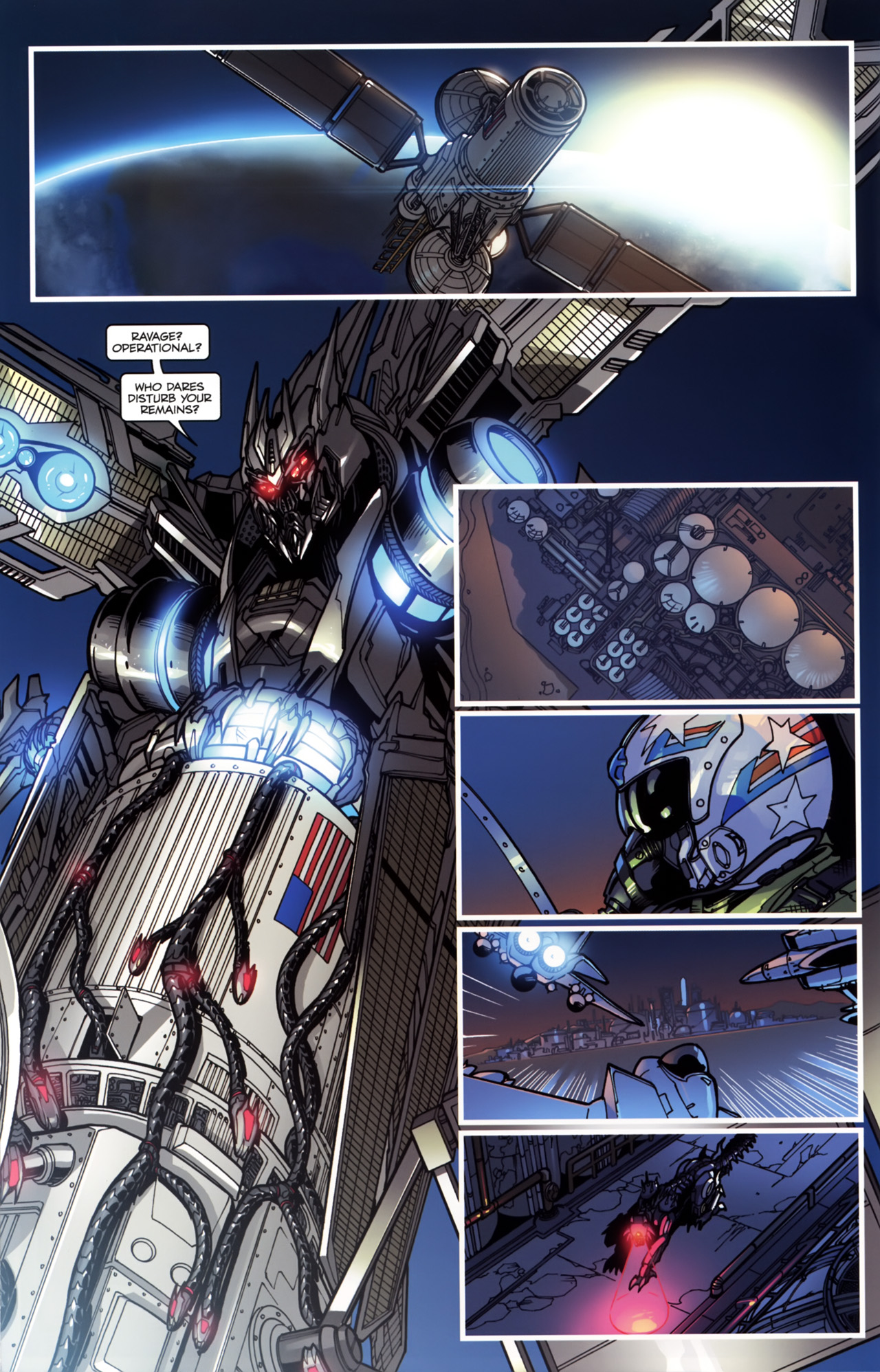 Read online Transformers: Tales of The Fallen comic -  Issue #5 - 20