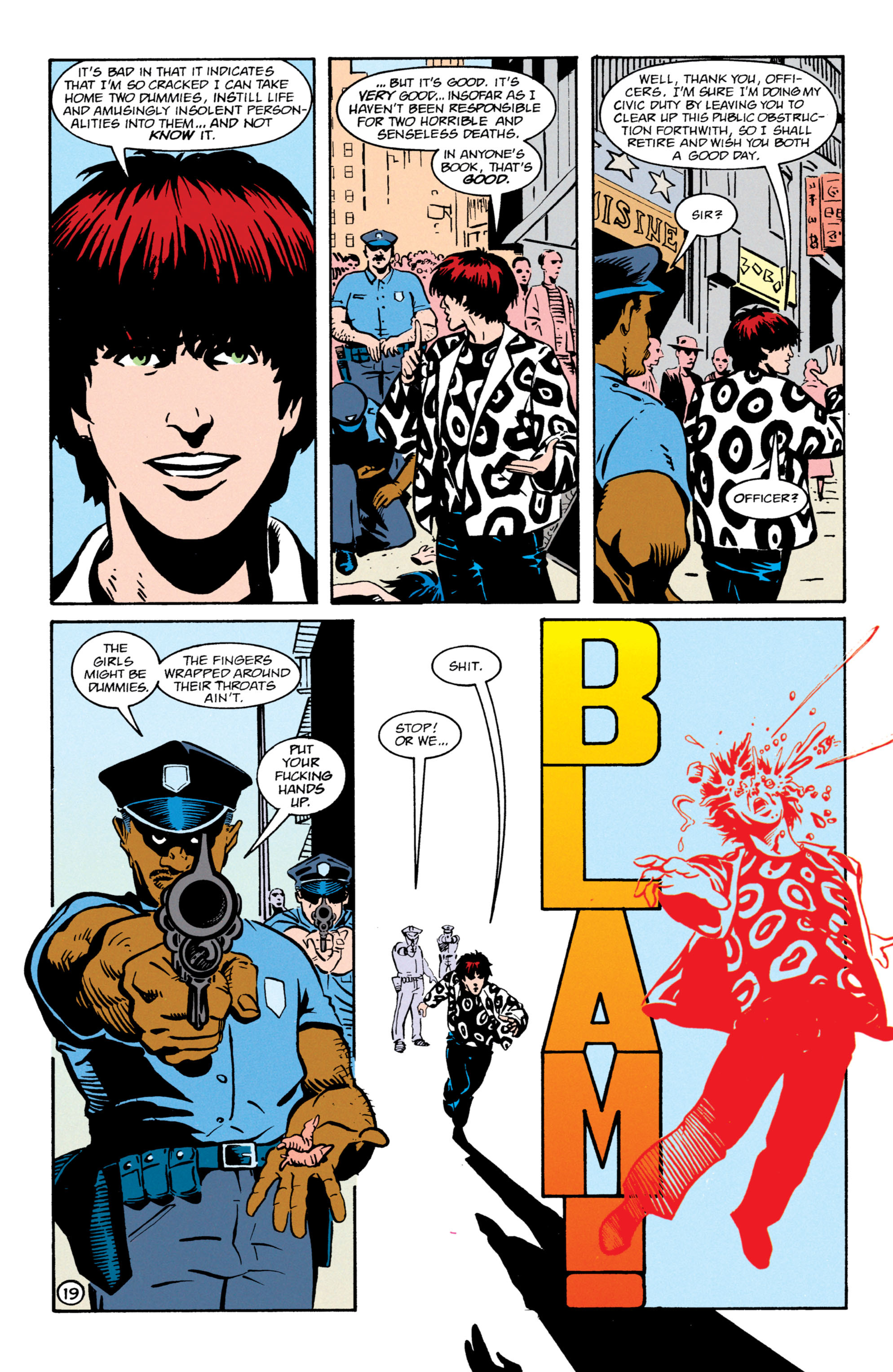 Read online Shade, the Changing Man comic -  Issue #64 - 20