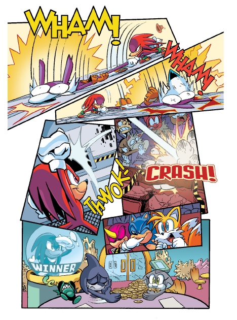 Read online Sonic Comics Spectacular: Speed of Sound comic -  Issue # Full - 54