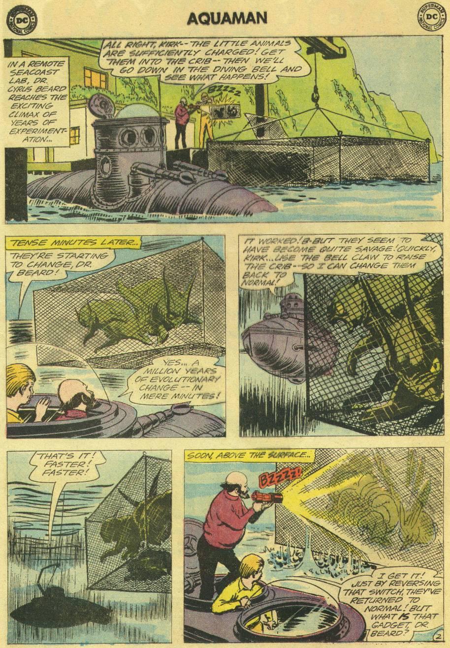 Read online Aquaman (1962) comic -  Issue #12 - 4