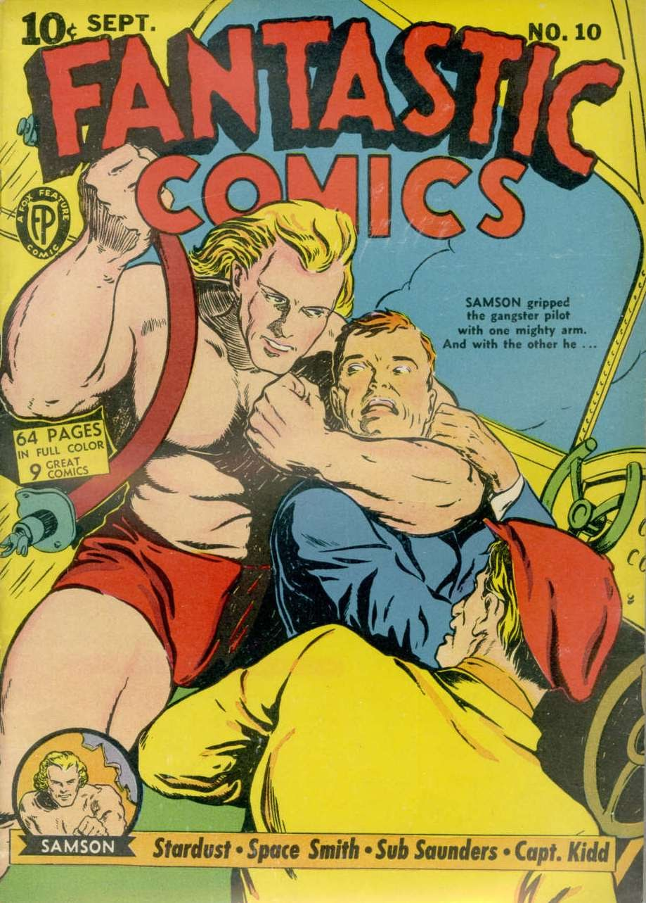 Read online Fantastic Comics comic -  Issue #10 - 1