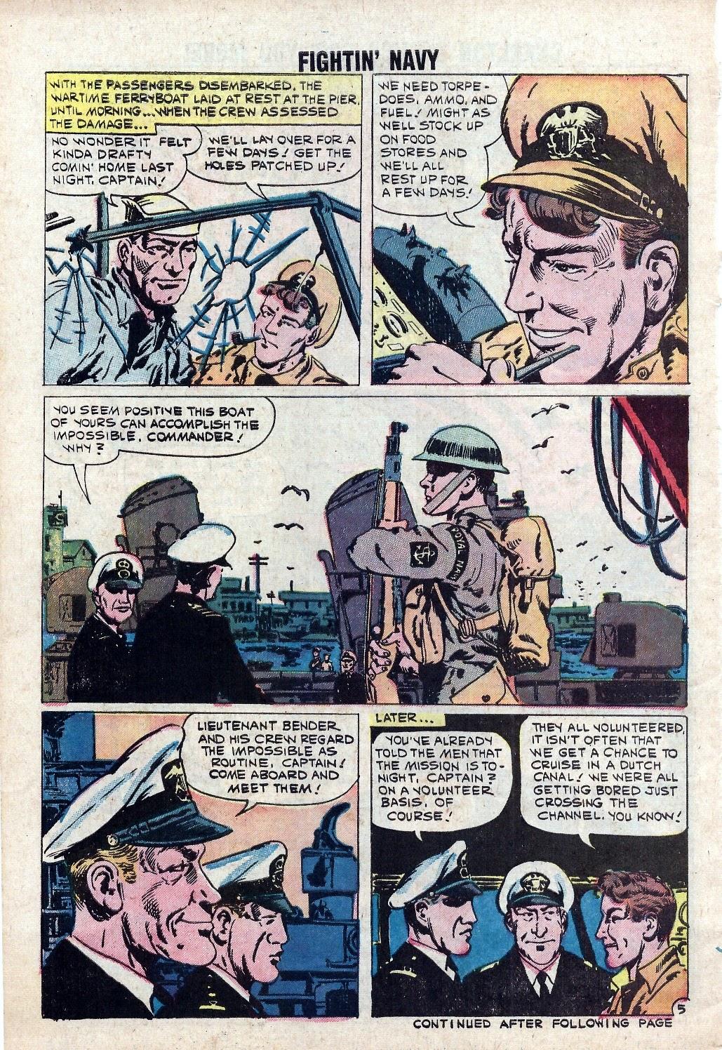 Read online Fightin' Navy comic -  Issue #94 - 30
