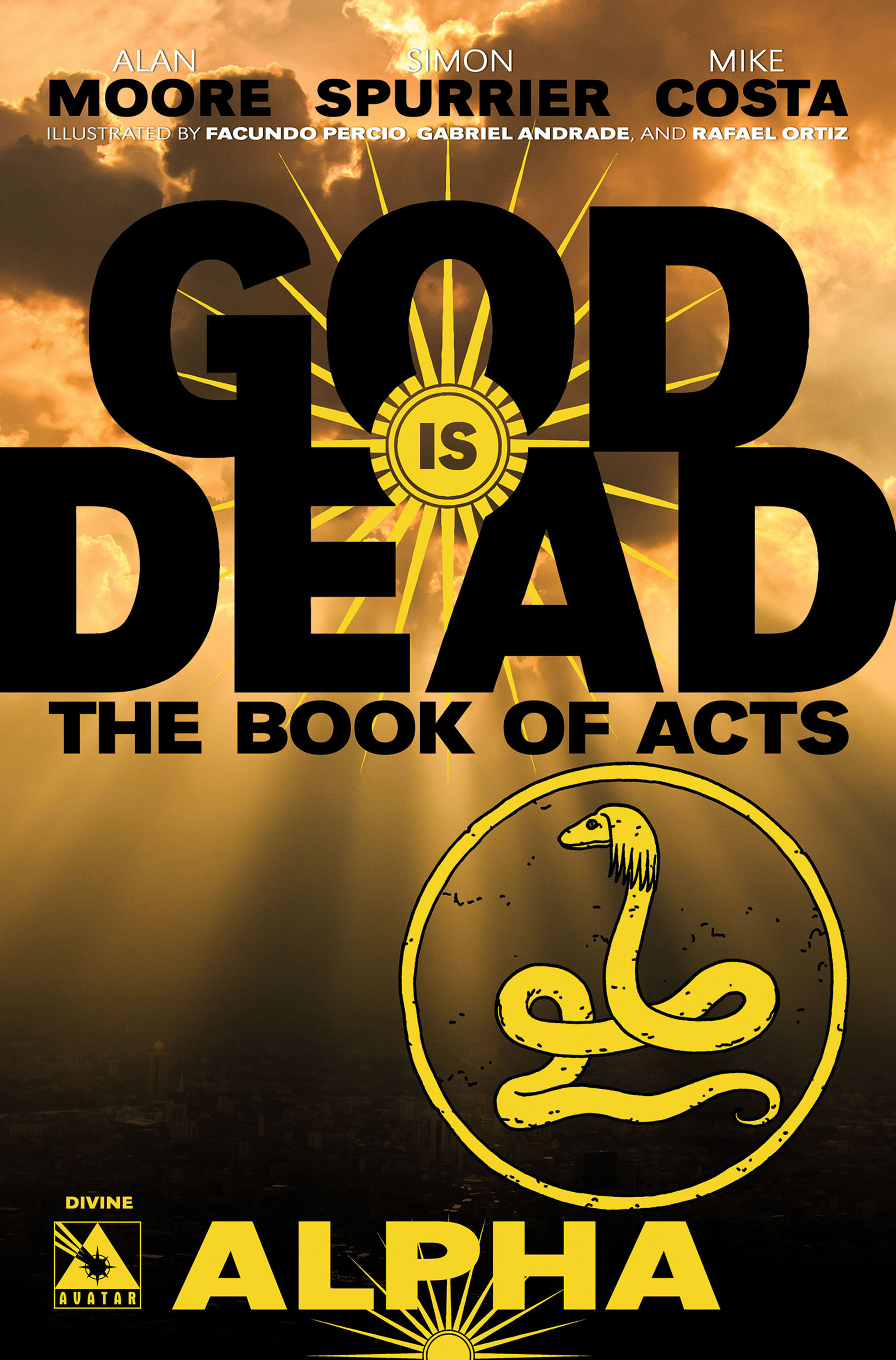 Read online God is Dead: Book of Acts comic -  Issue # Alpha - 2