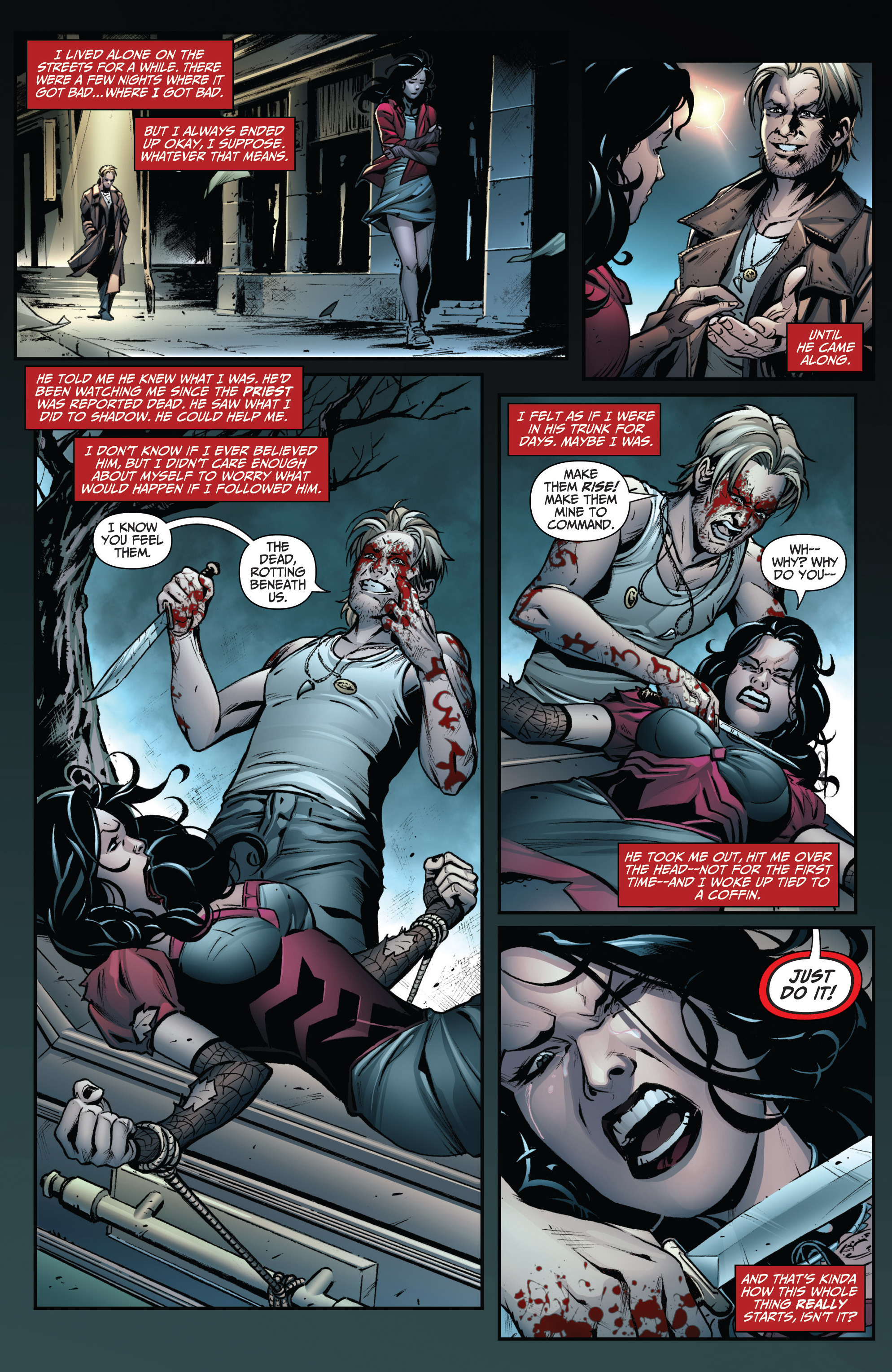 Read online Grimm Fairy Tales: Arcane Acre comic -  Issue # TPB 3 - 37