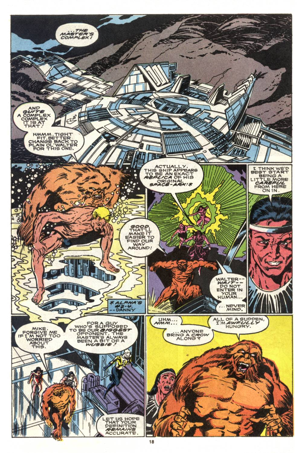 Read online Alpha Flight (1983) comic -  Issue #88 - 14