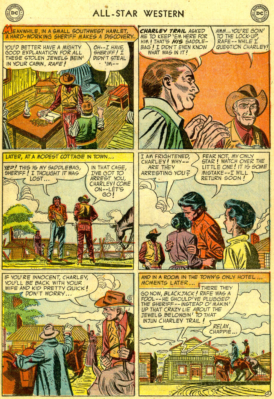 Read online All-Star Western (1951) comic -  Issue #75 - 20