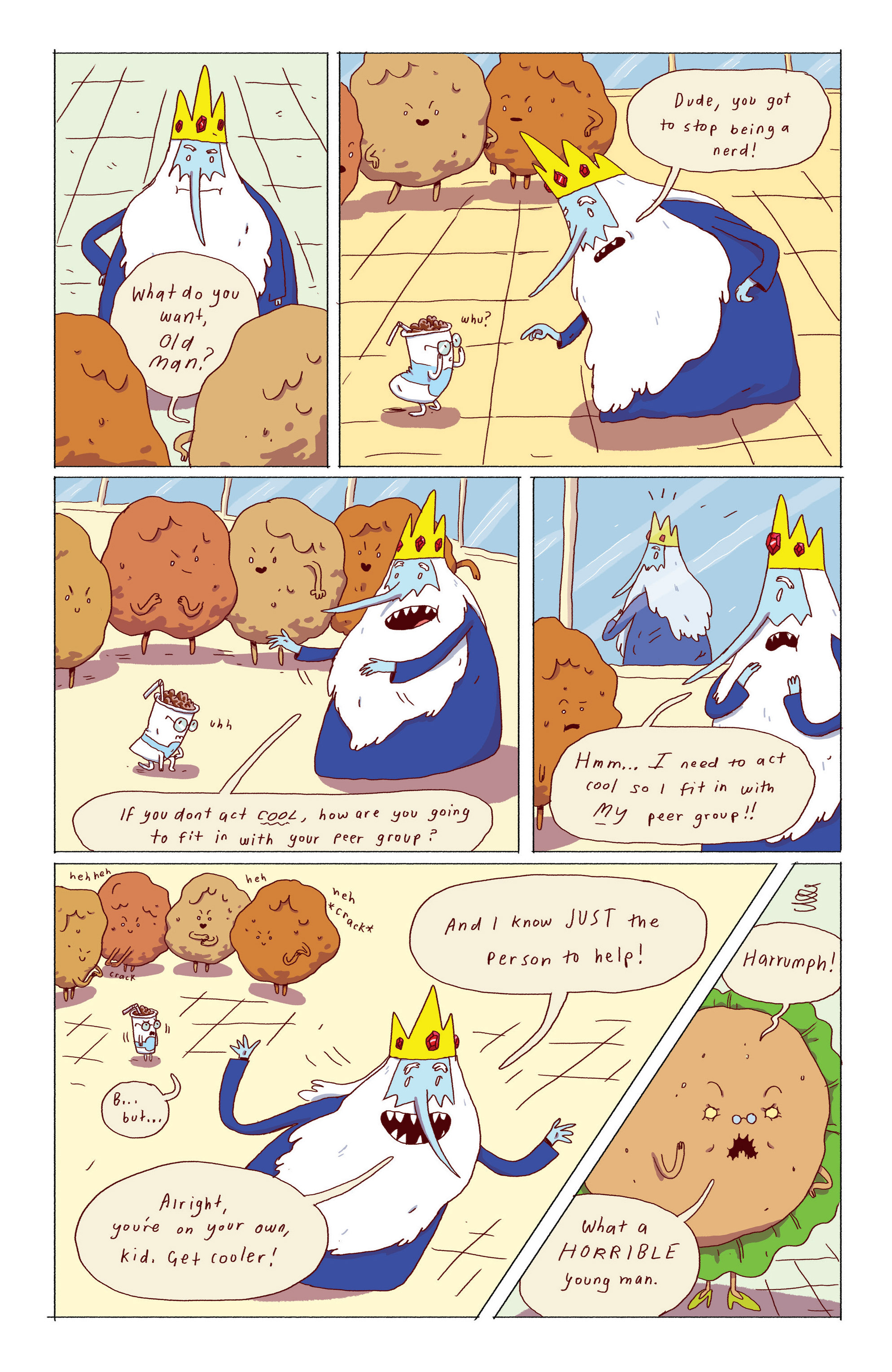 Read online Adventure Time: Ice King comic -  Issue #2 - 7