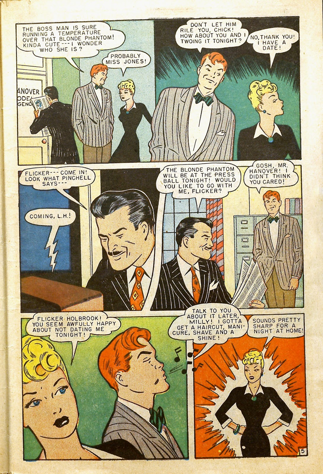 Read online Millie the Model comic -  Issue #2 - 7