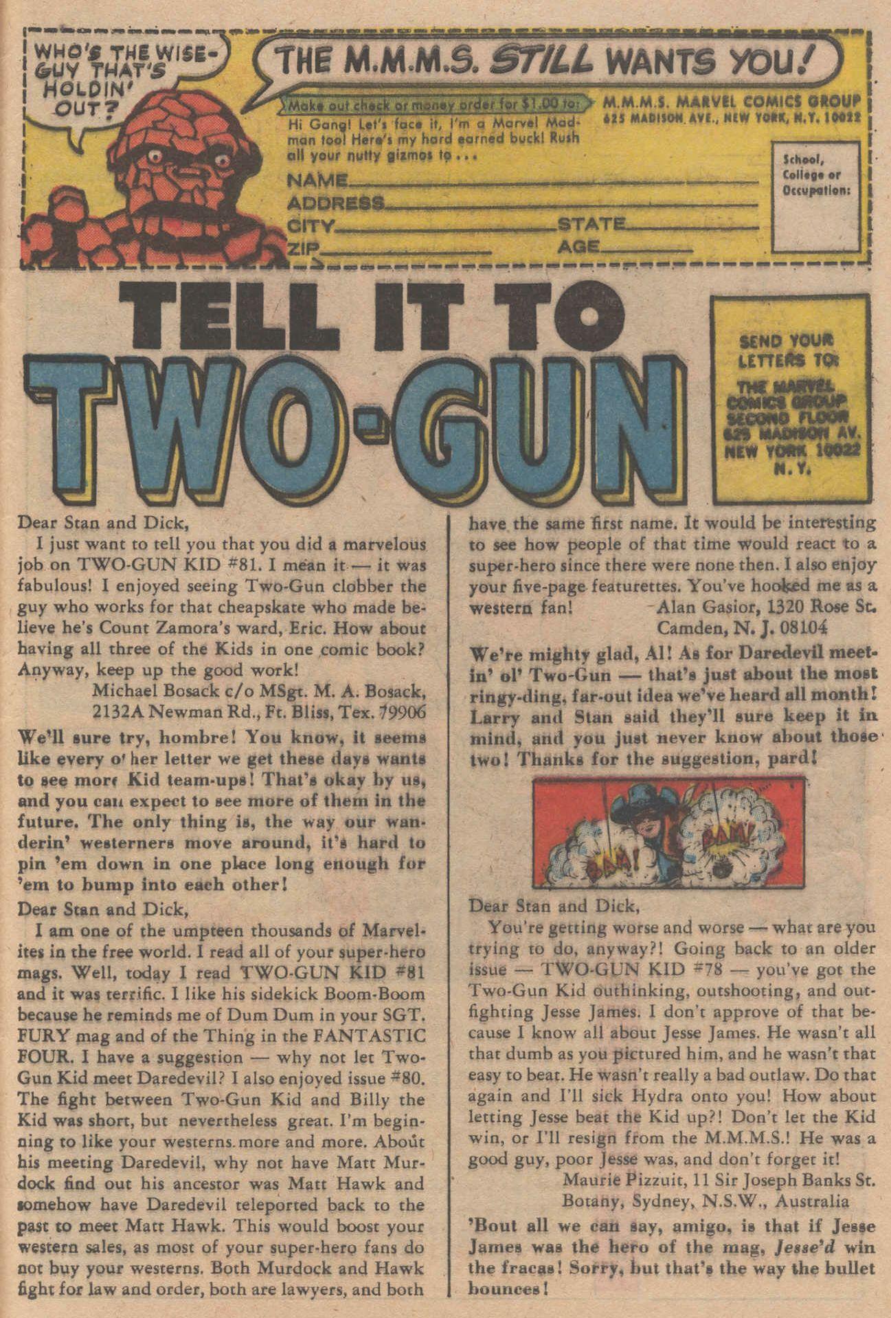 Read online Two-Gun Kid comic -  Issue #83 - 33