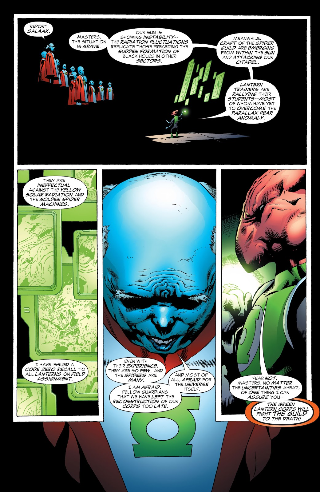 Read online Green Lantern by Geoff Johns comic -  Issue # TPB 1 (Part 3) - 72
