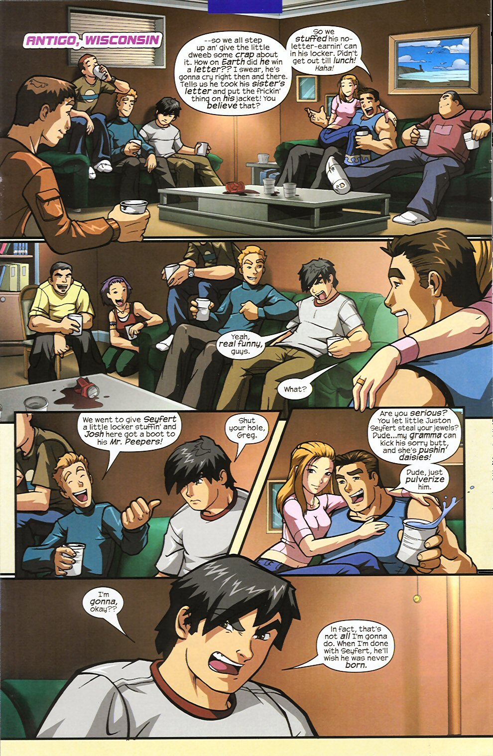 Read online Sentinel comic -  Issue #4 - 4
