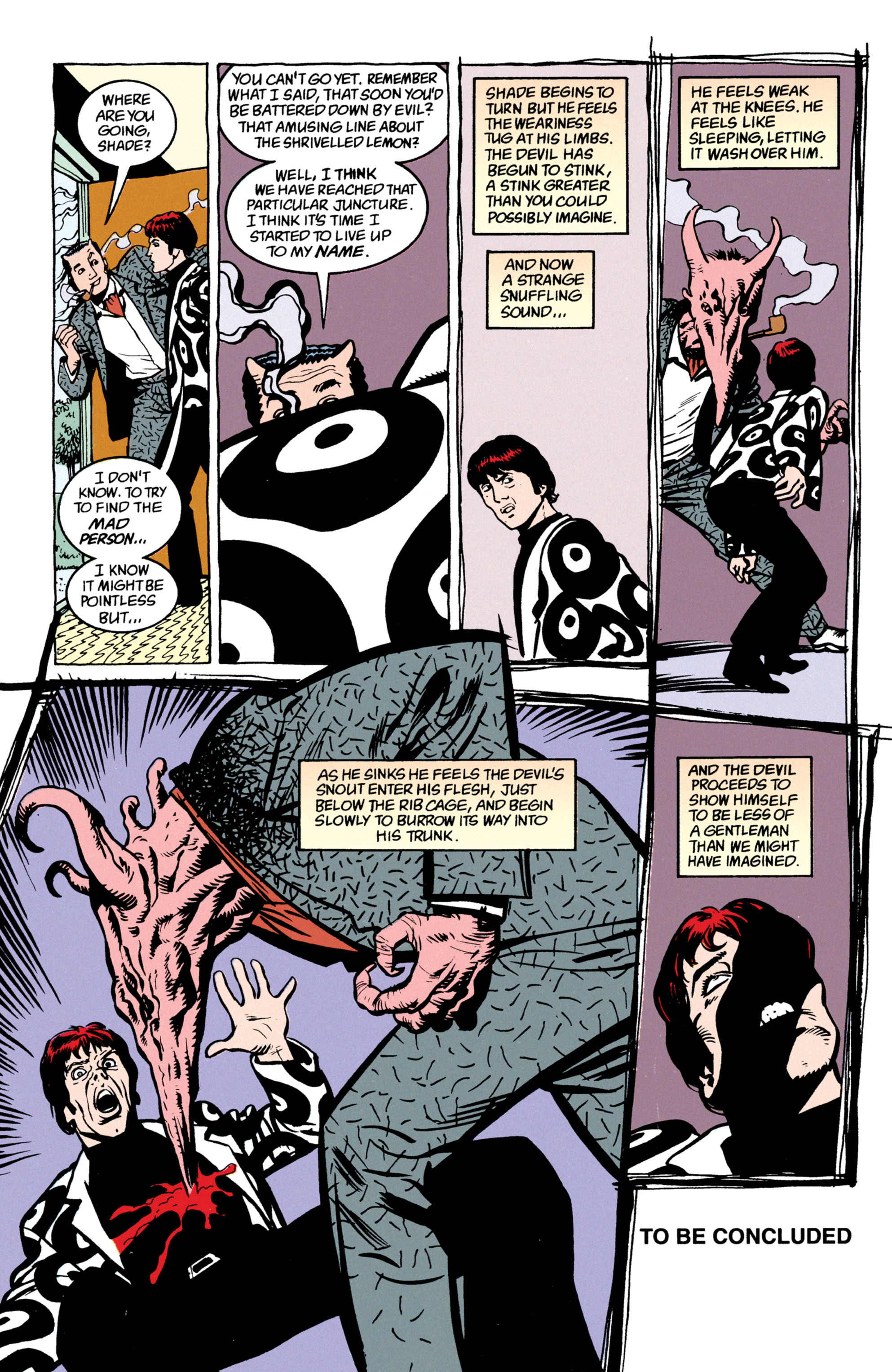 Read online Shade, the Changing Man comic -  Issue #52 - 25
