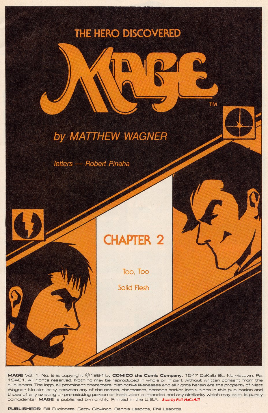 Read online Mage: The Hero Discovered comic -  Issue #2 - 3