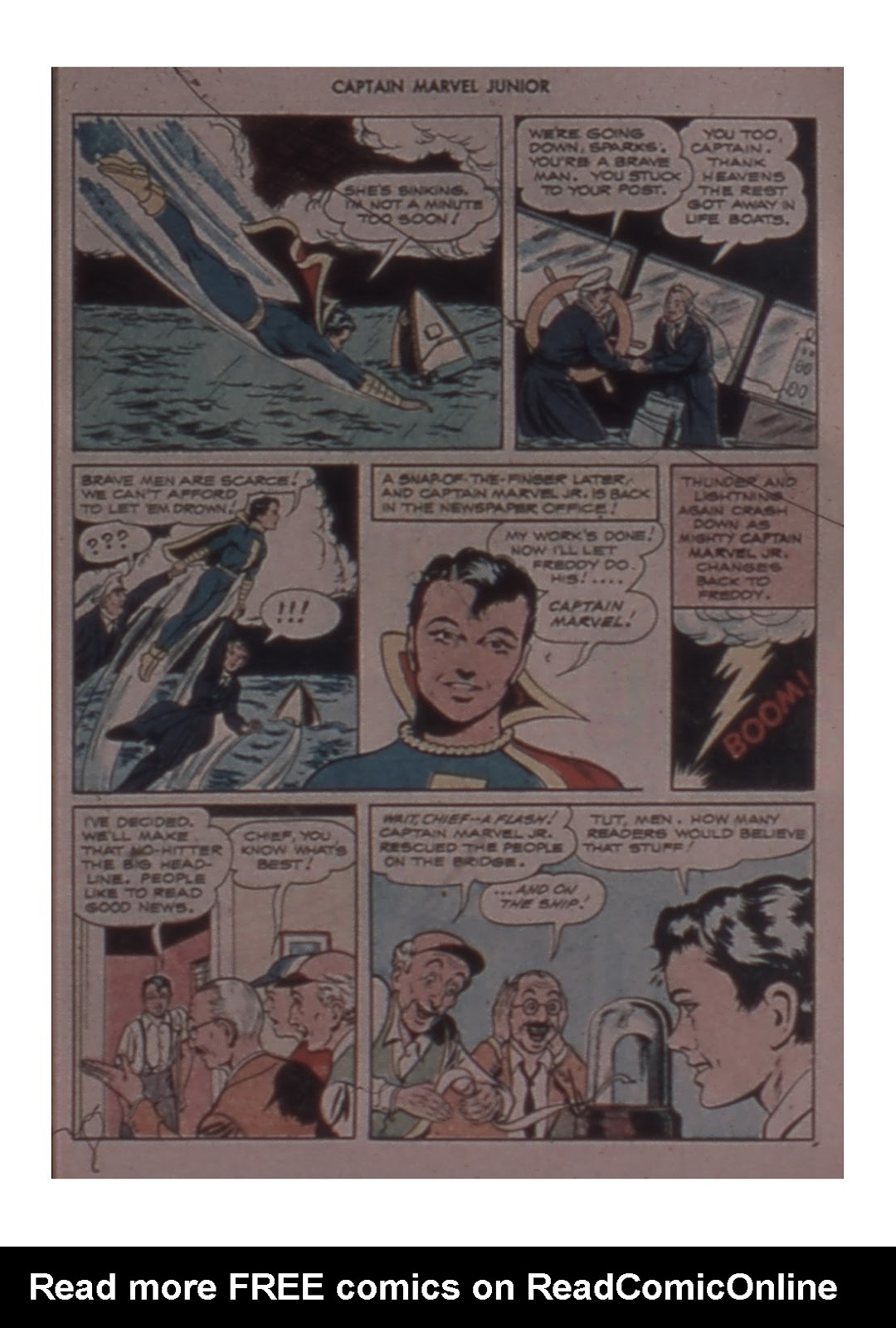 Captain Marvel, Jr. issue 59 - Page 9
