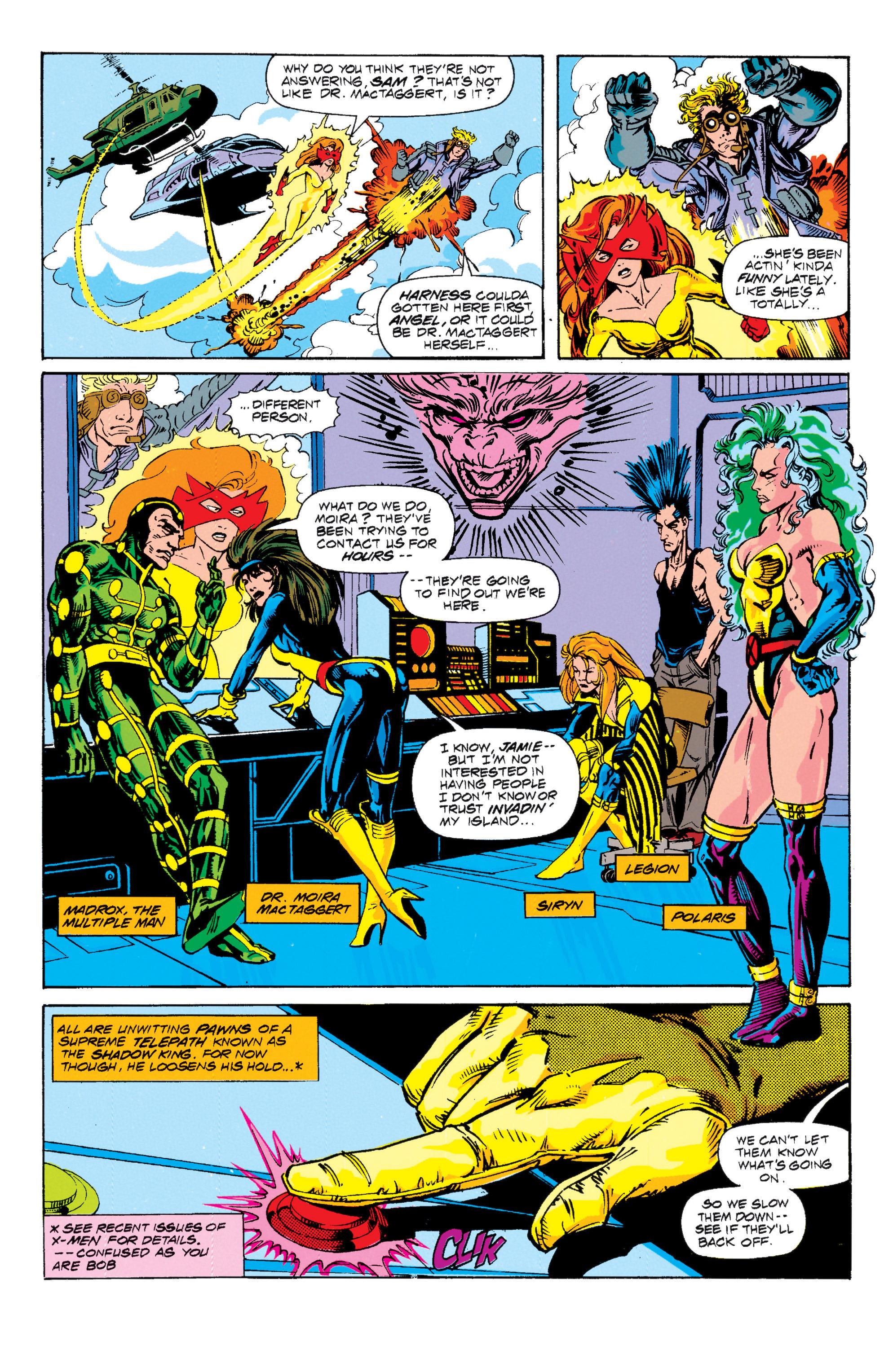 Read online Uncanny X-Men (1963) comic -  Issue # _Annual 15 - 3
