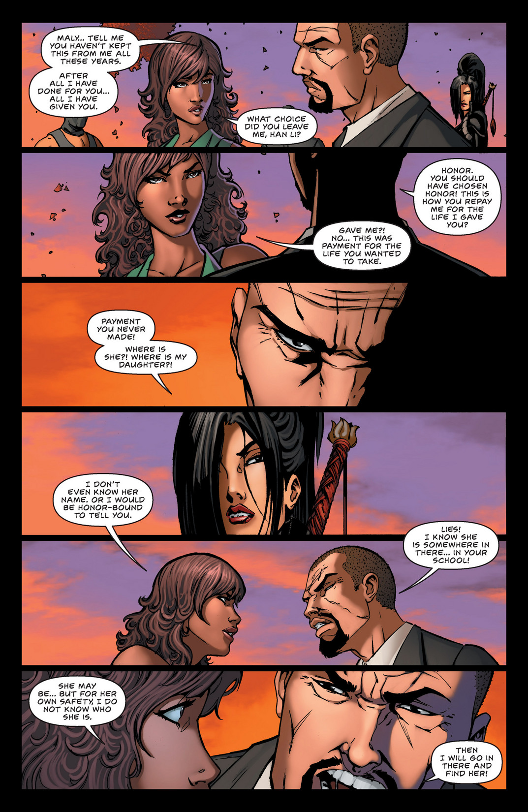 Read online All New Executive Assistant: Iris comic -  Issue #2 - 7