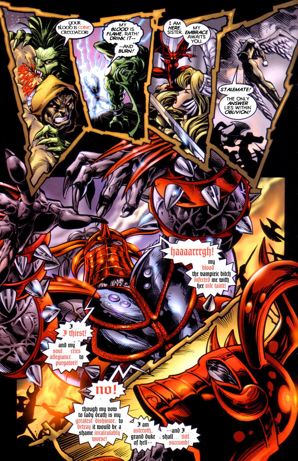 Read online Lady Death vs. Purgatori comic -  Issue # Full - 12
