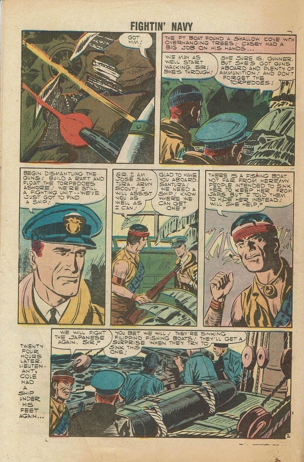Read online Fightin' Navy comic -  Issue #81 - 4
