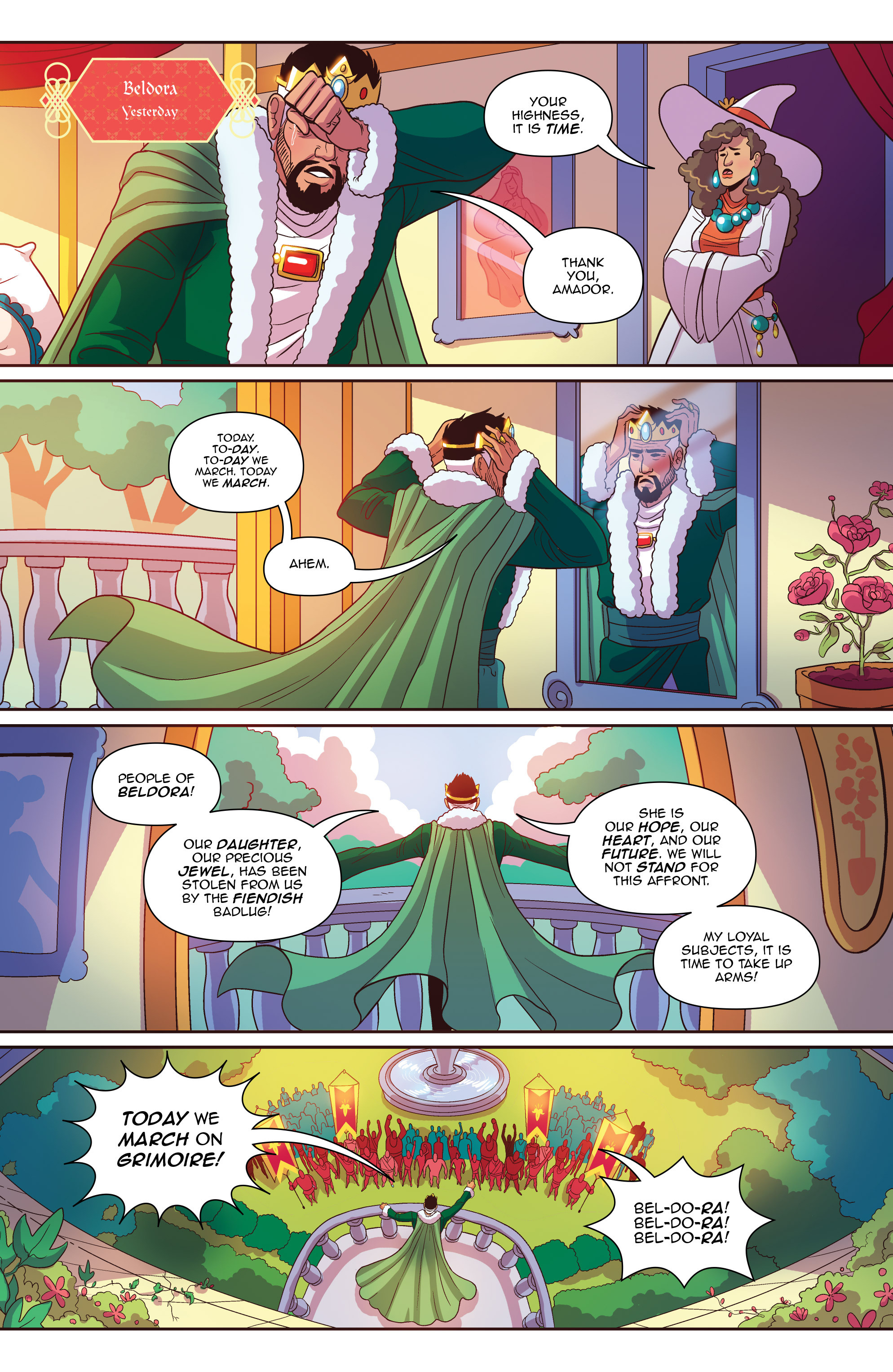 Read online Another Castle comic -  Issue #2 - 17