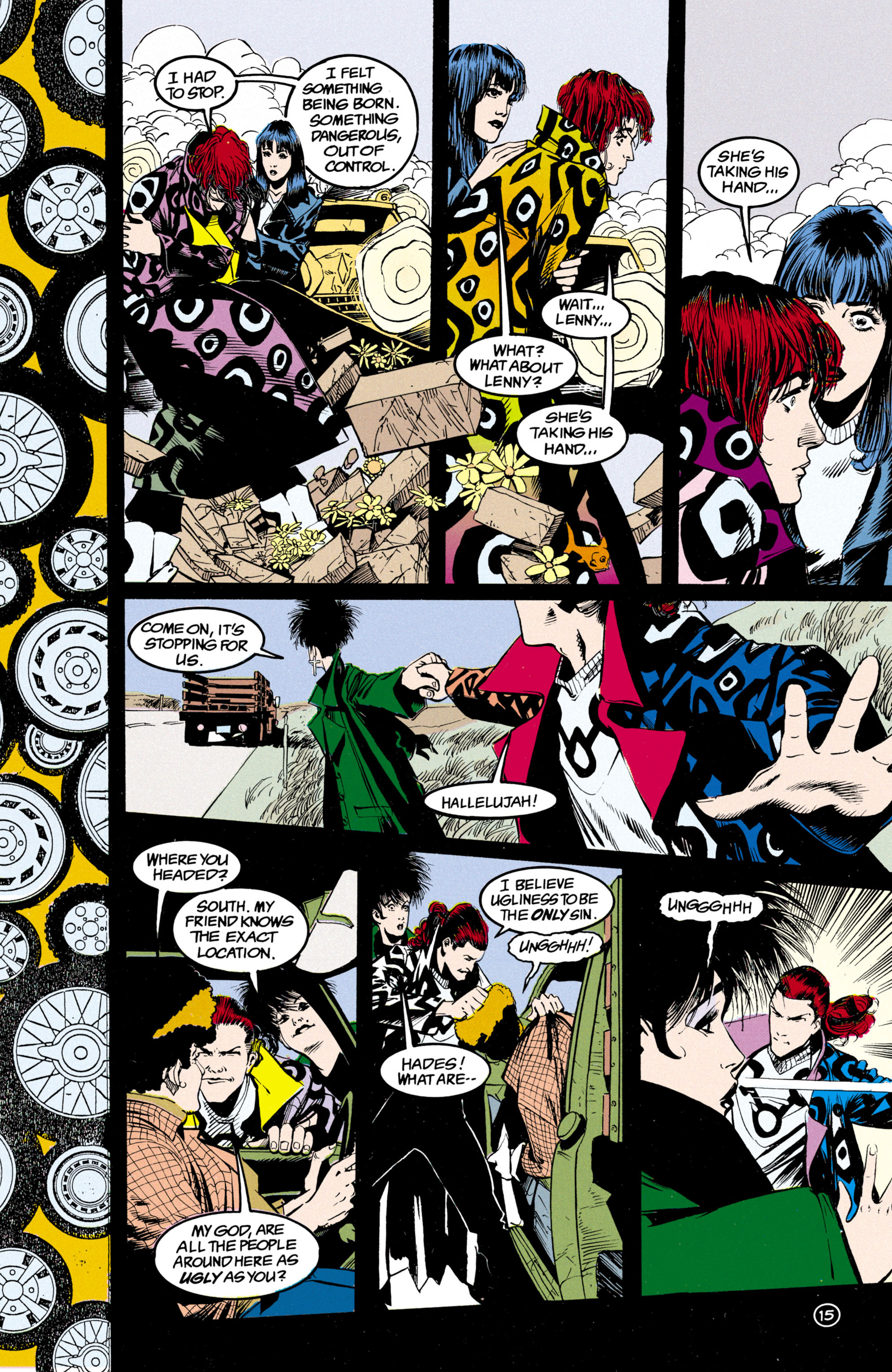 Read online Shade, the Changing Man comic -  Issue #24 - 16