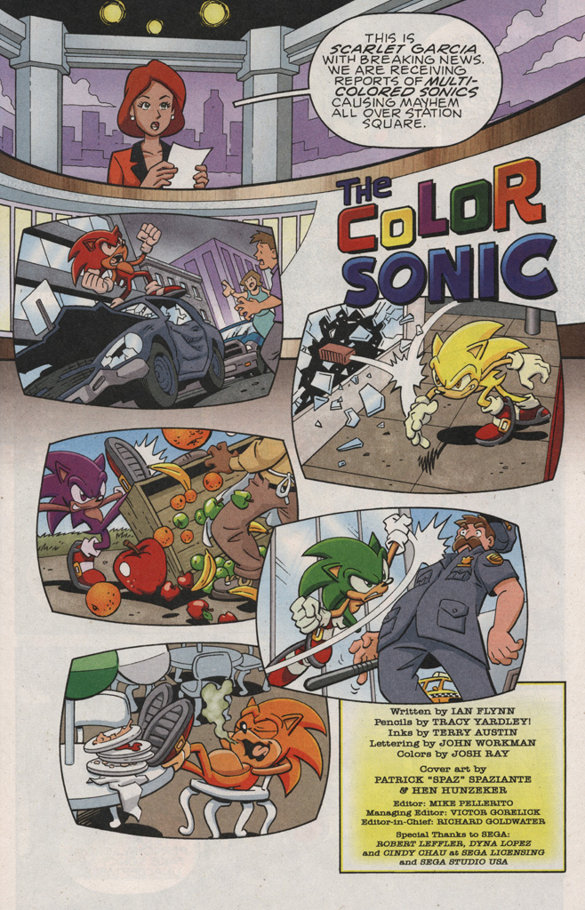 Read online Sonic X comic -  Issue #25 - 3