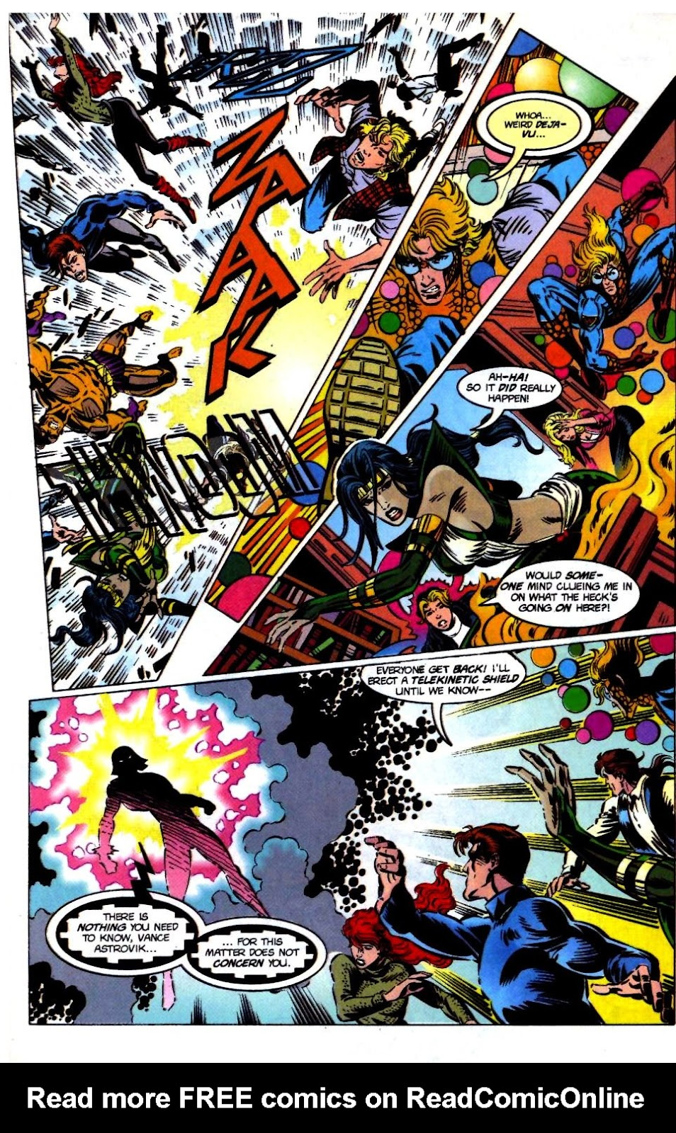 The New Warriors Issue #68 #72 - English 23
