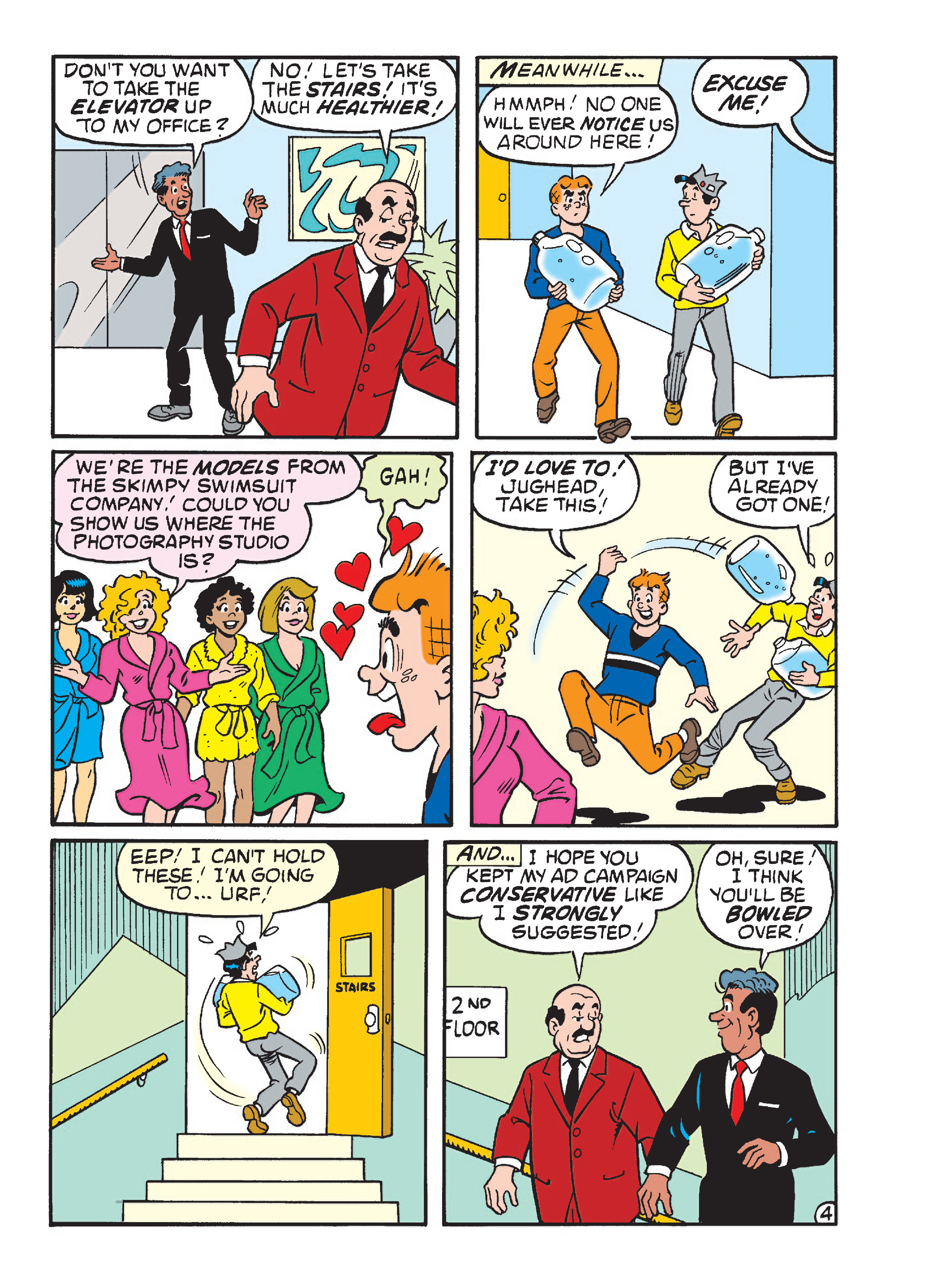 Read online Archie's Funhouse Double Digest comic -  Issue #23 - 96